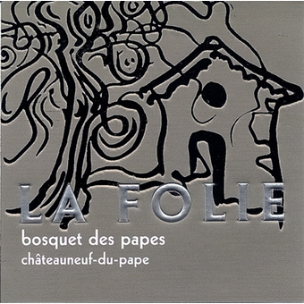 Label shot for 2015 Bosquet Des Papes Chateauneuf Du Pape La Folie