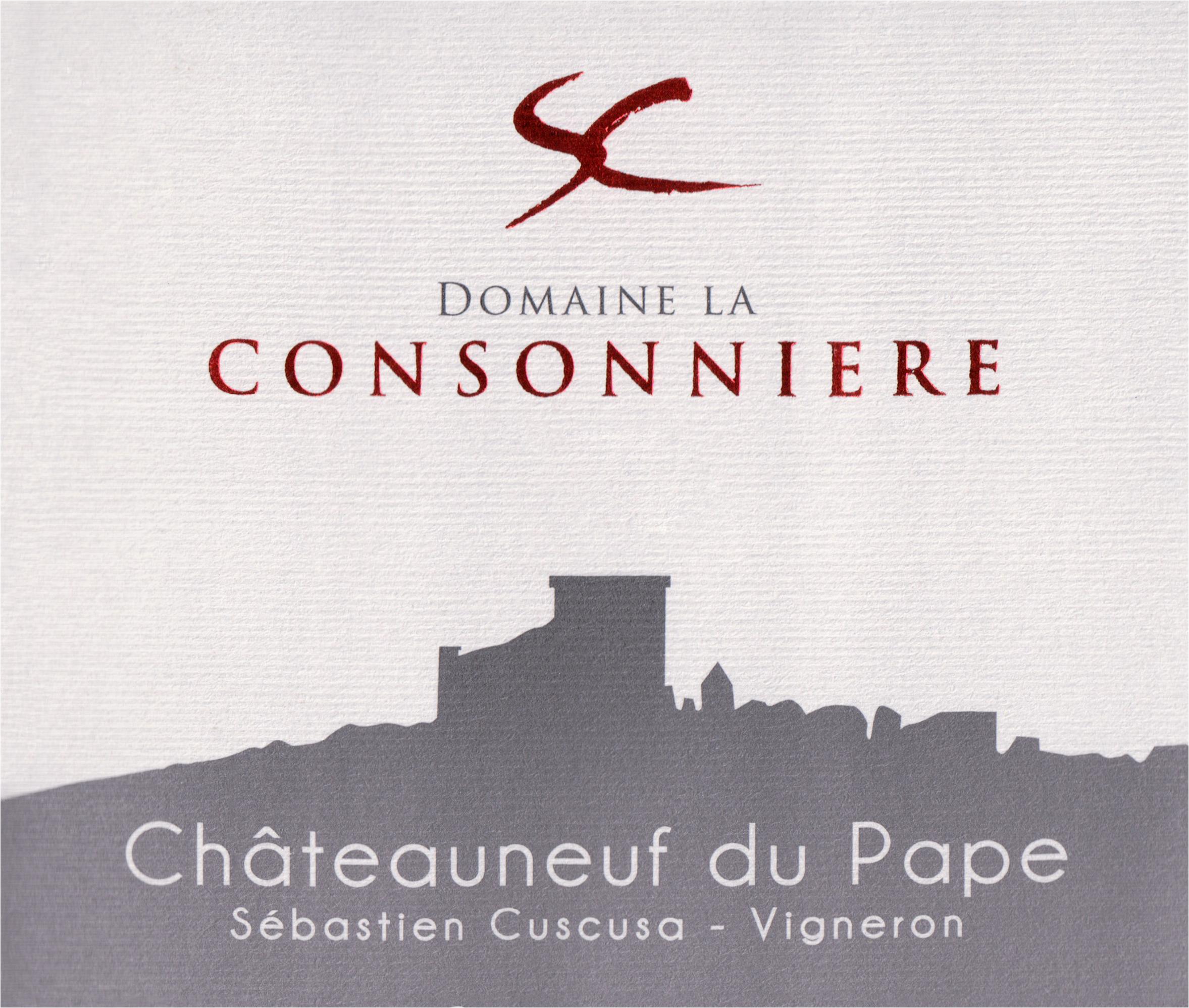 Domaine La Consonniere Chateauneuf Du Pape Rouge 2016
