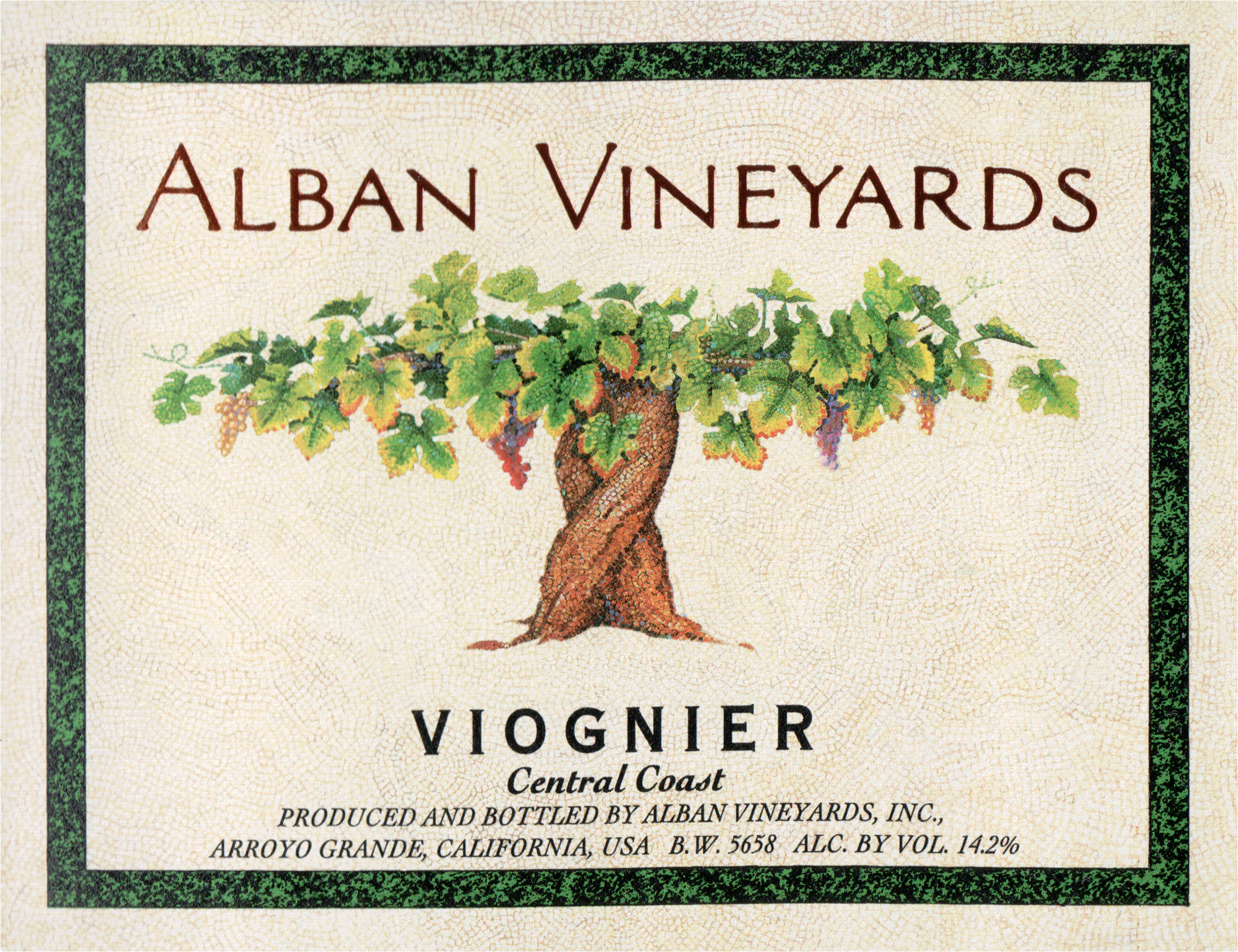 Alban Viognier Central Coast 2018