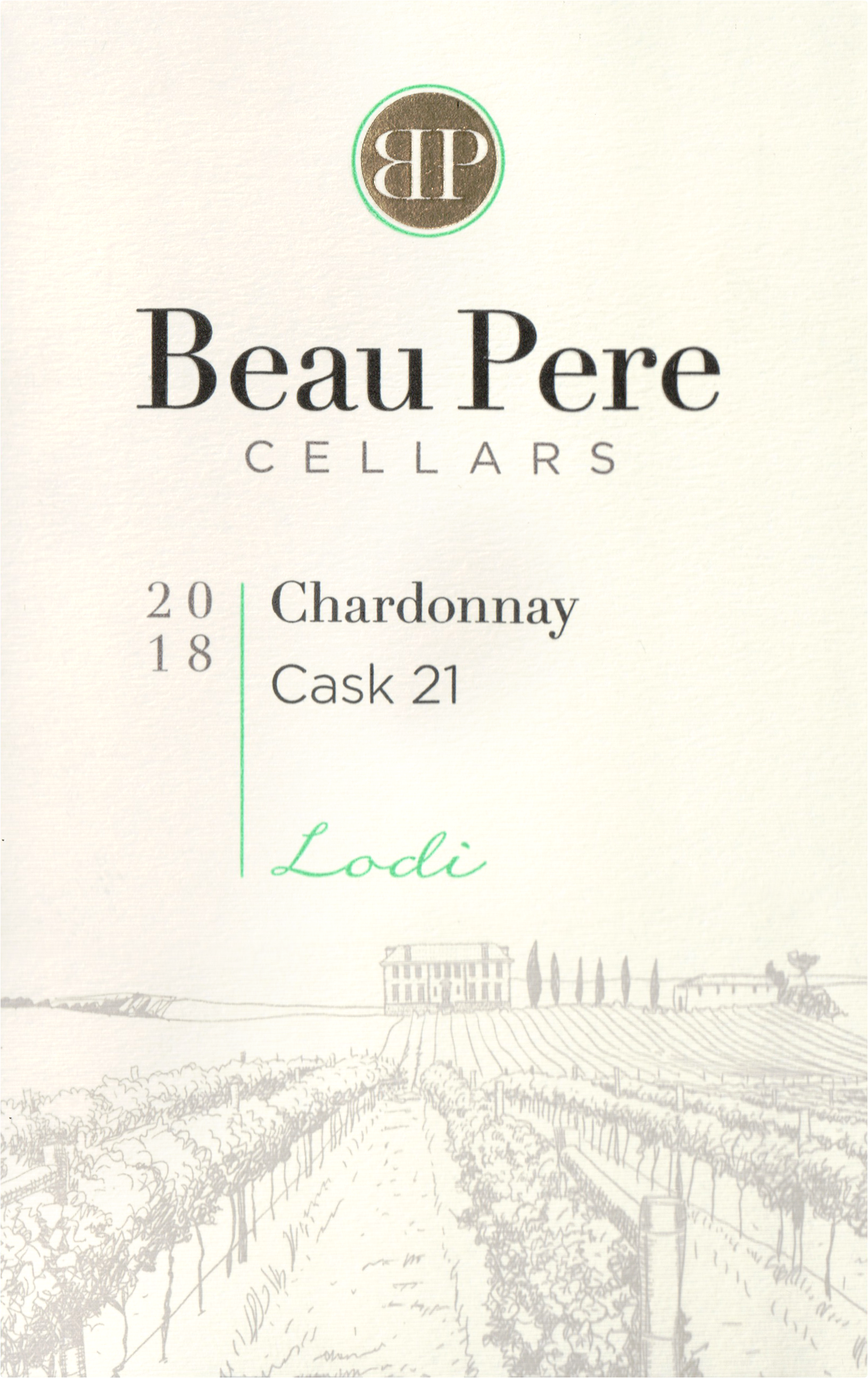 Beau Pere Chardonnay 2018