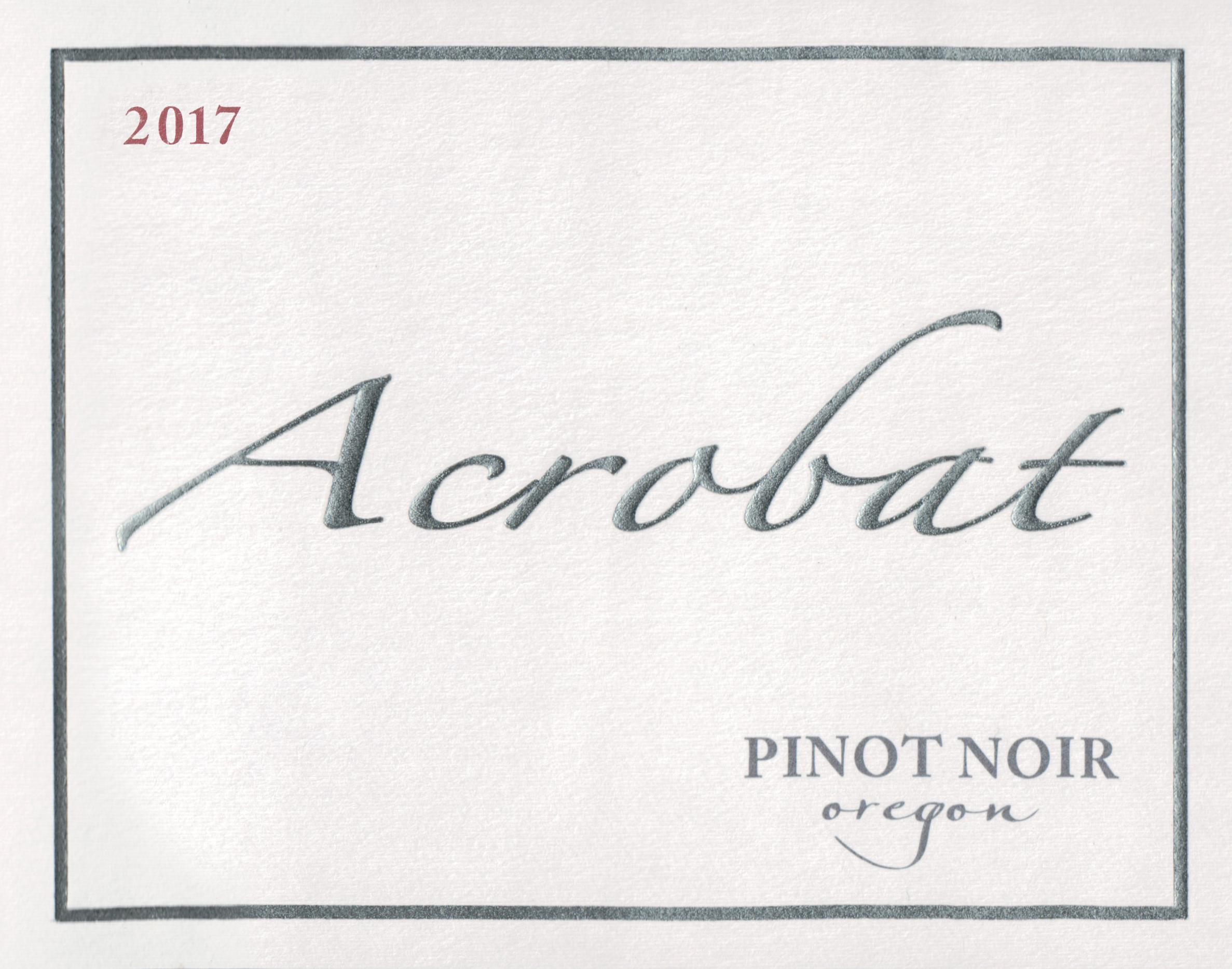 King Estate Acrobat Pinot Noir 2017