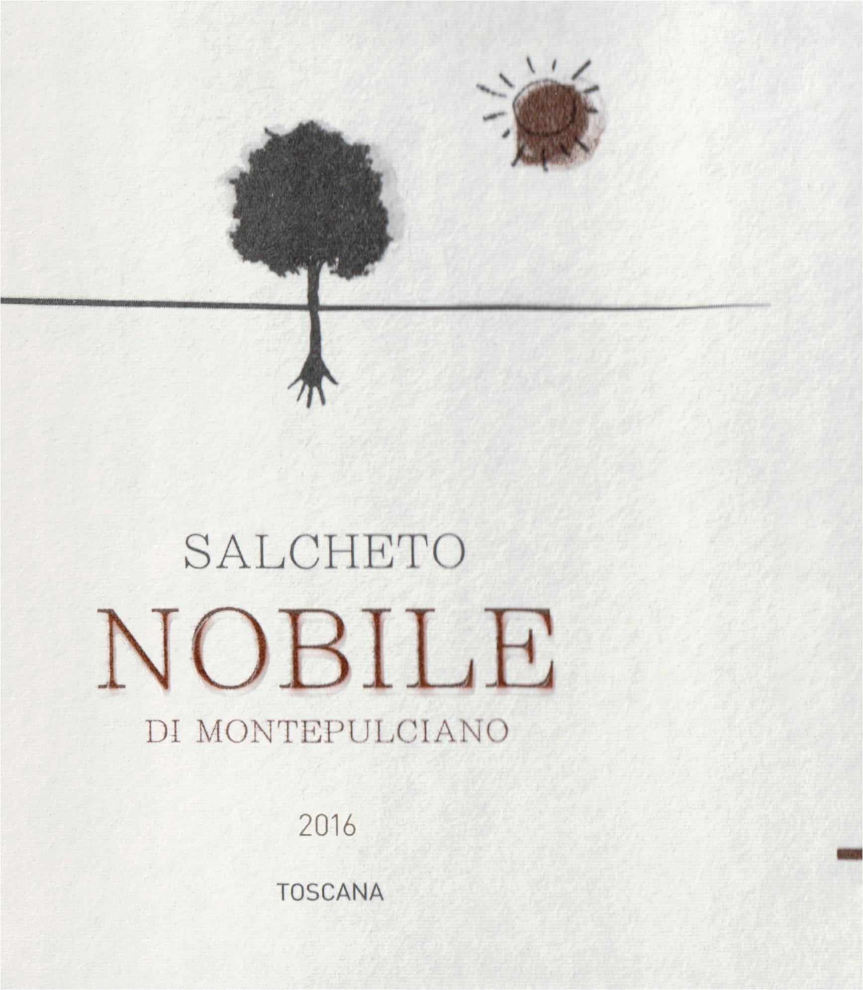 Salcheto Vino Nobile Di Montepulciano 2016