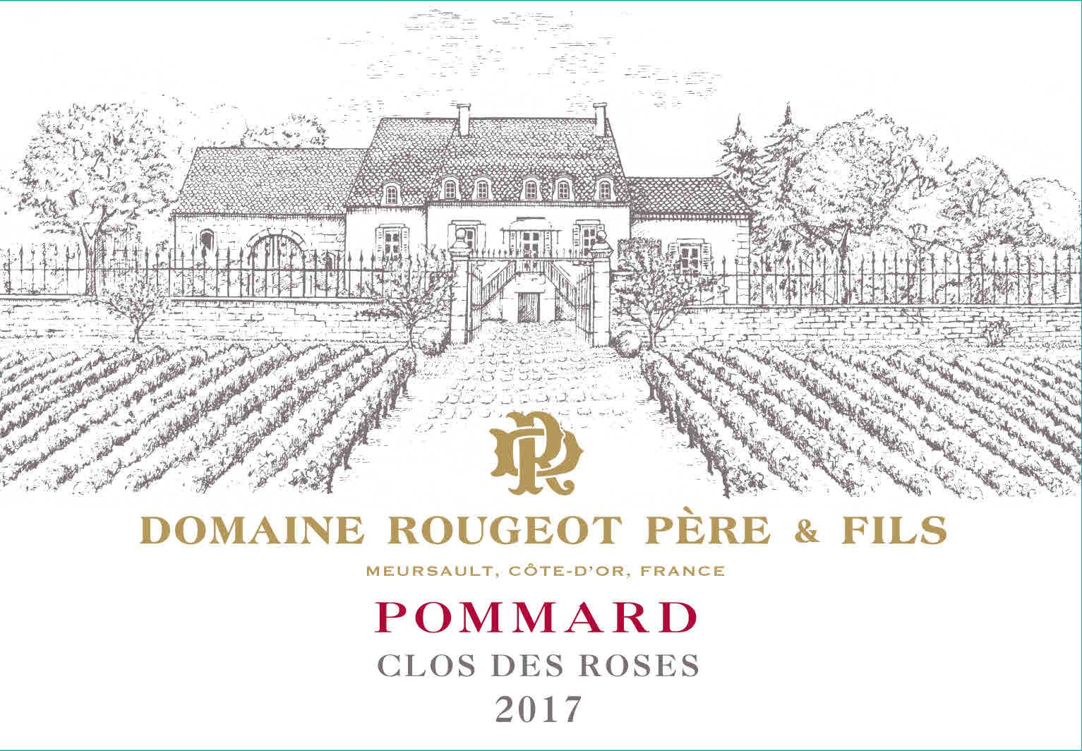 Rougeot Pommard Clos Des Roses 2017