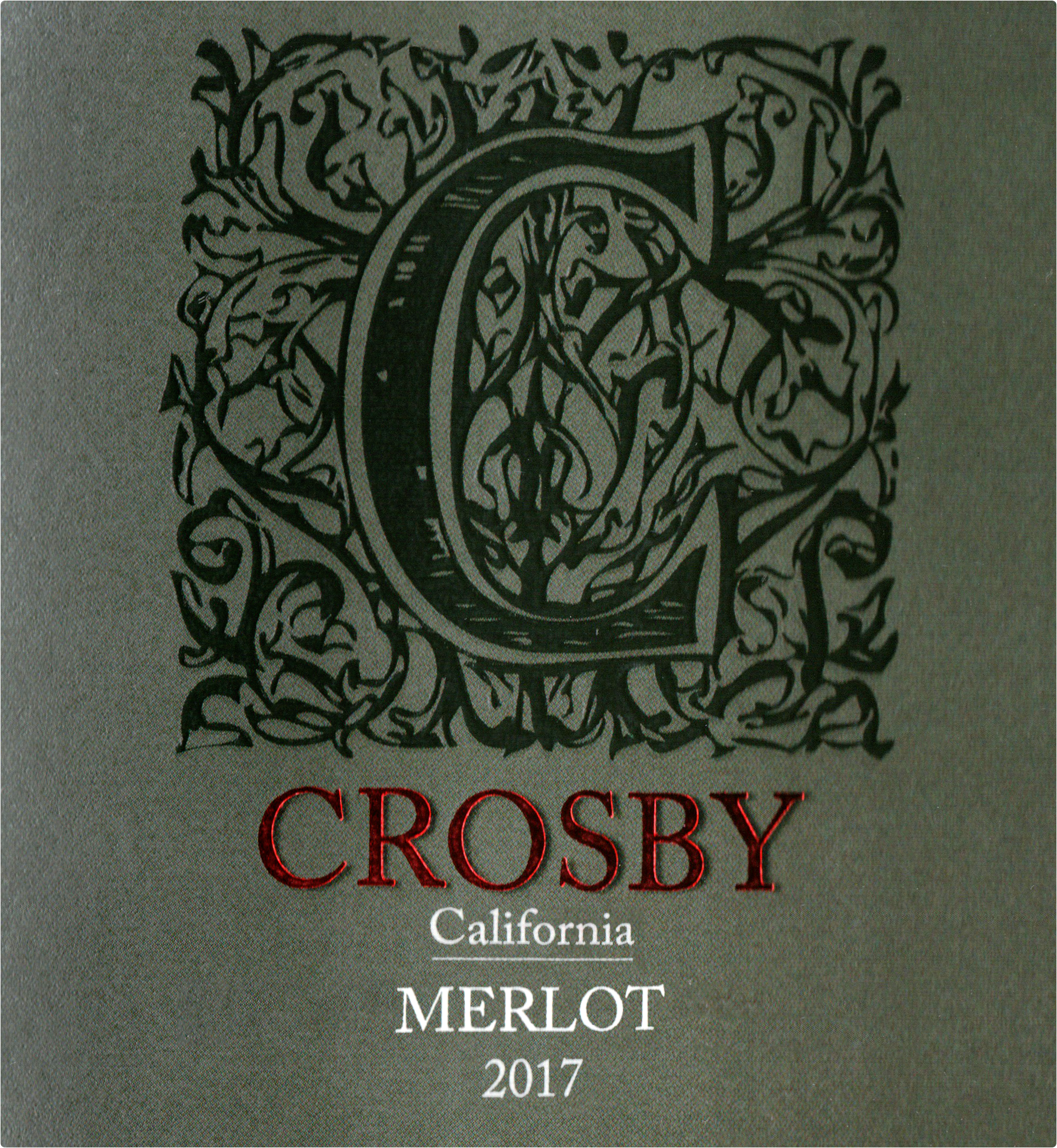 Crosby Merlot 2017