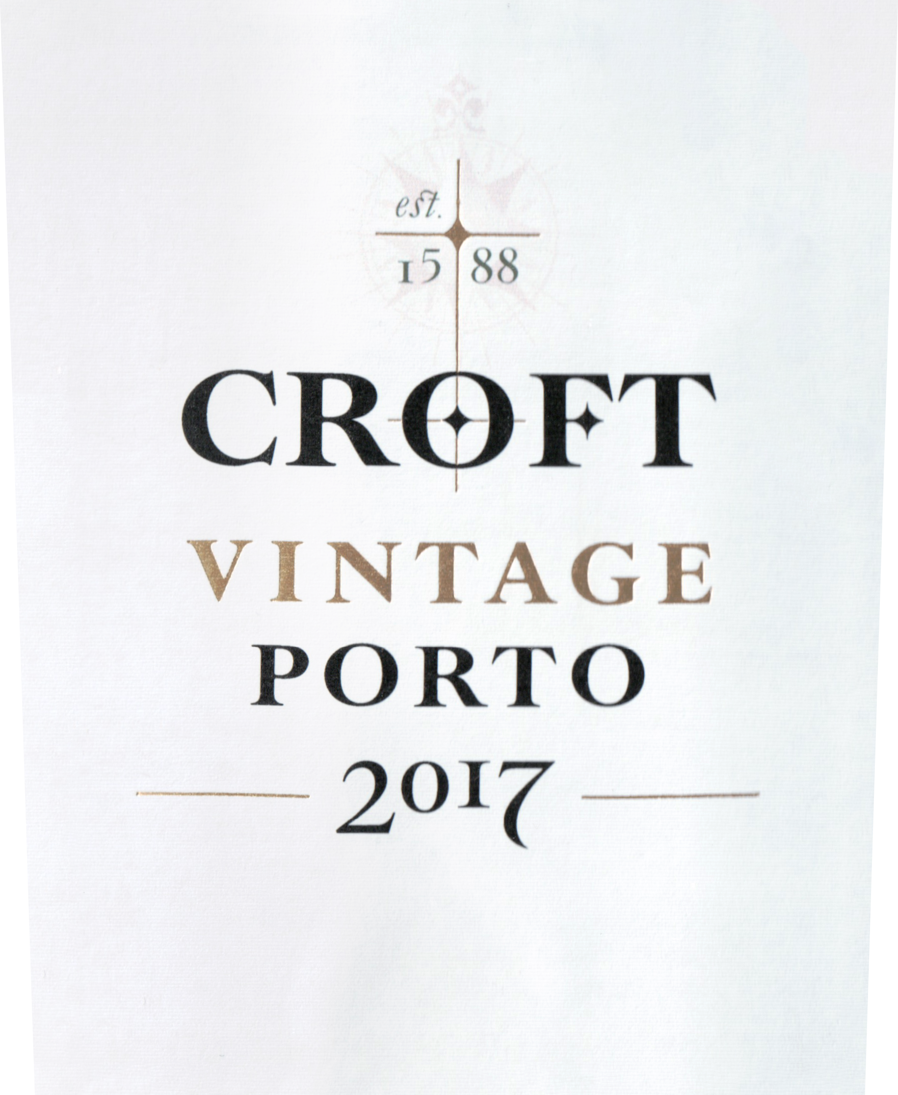 Croft Vintage Port 2017