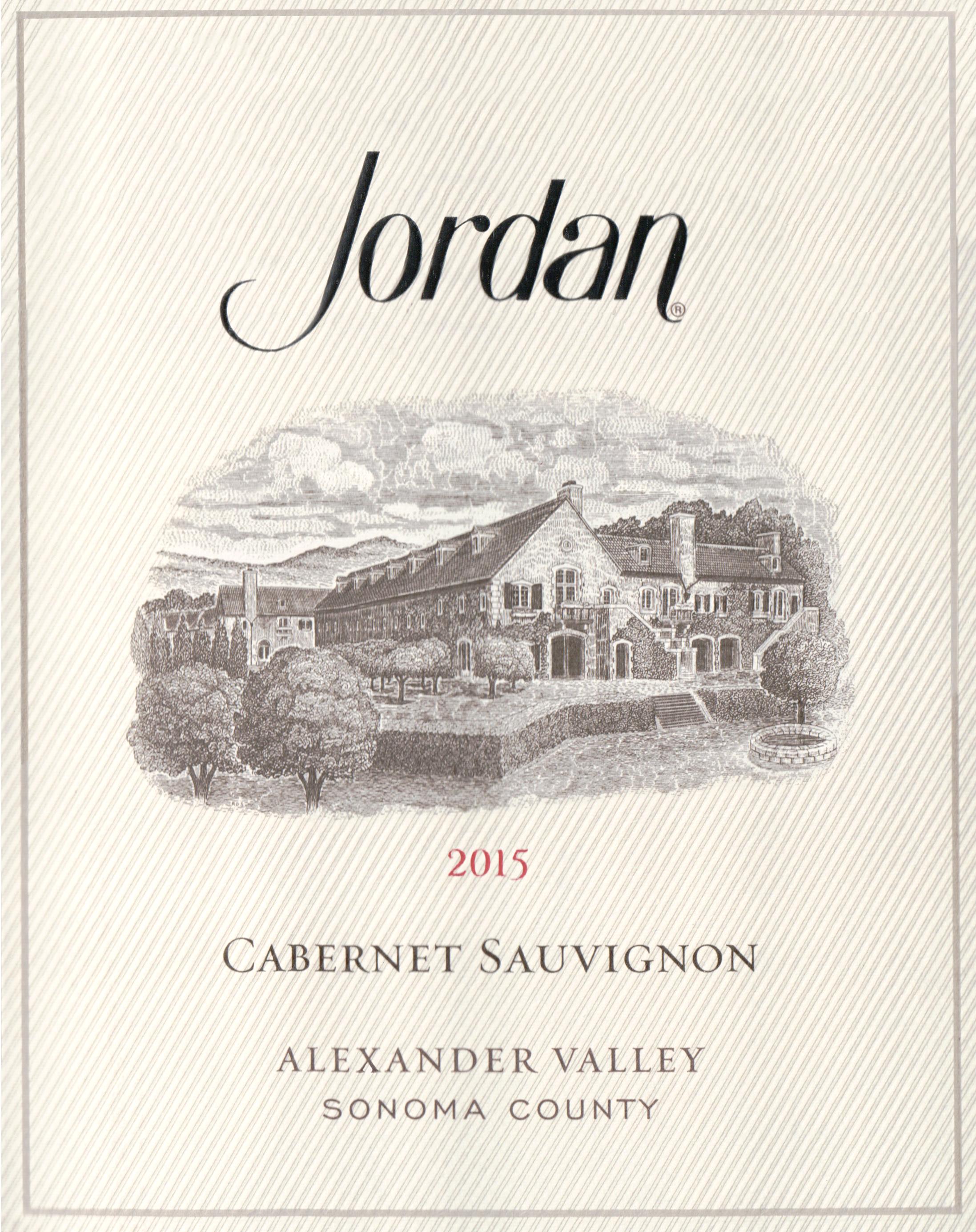Jordan Cabernet Sauvignon 2015