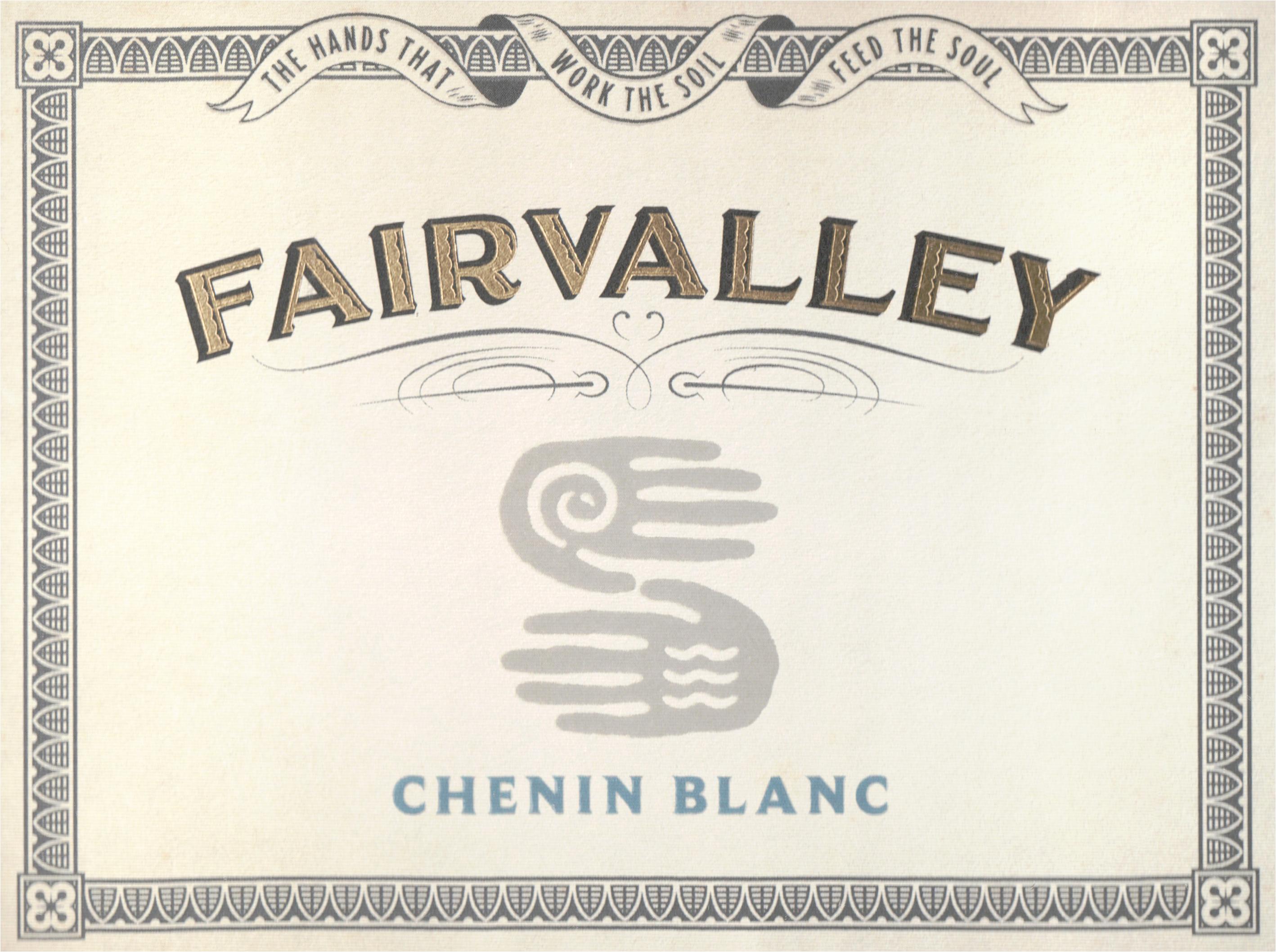 Fairvalley Chenin Blanc 2019