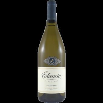 Bottle shot for 2018 Estancia Chardonnay