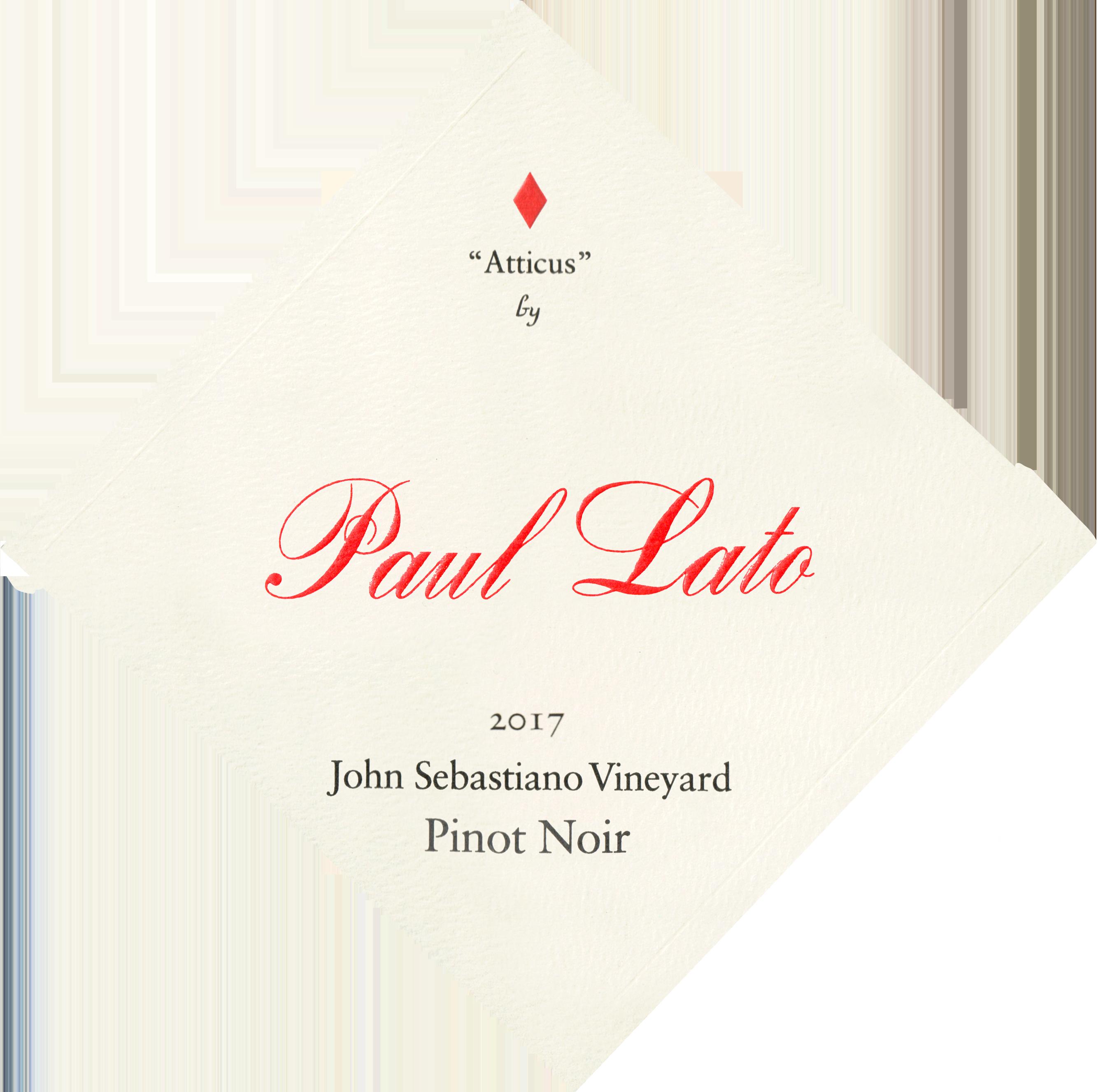 Paul Lato Atticus Sebastiano Vineyard Pinot Noir 2017