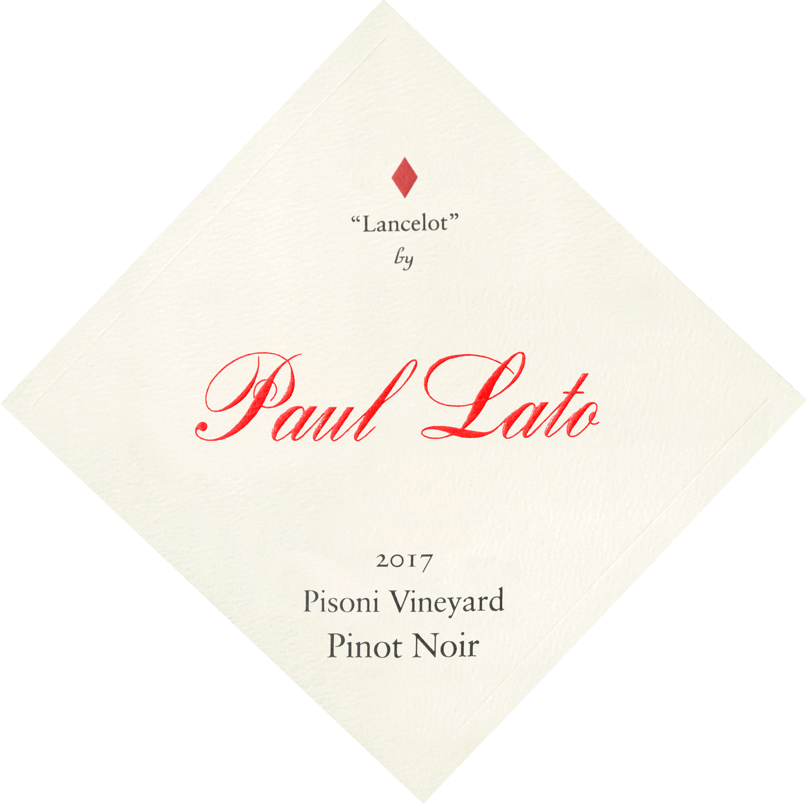 Paul Lato Lancelot Pisoni Vineyard Pinot Noir 2017
