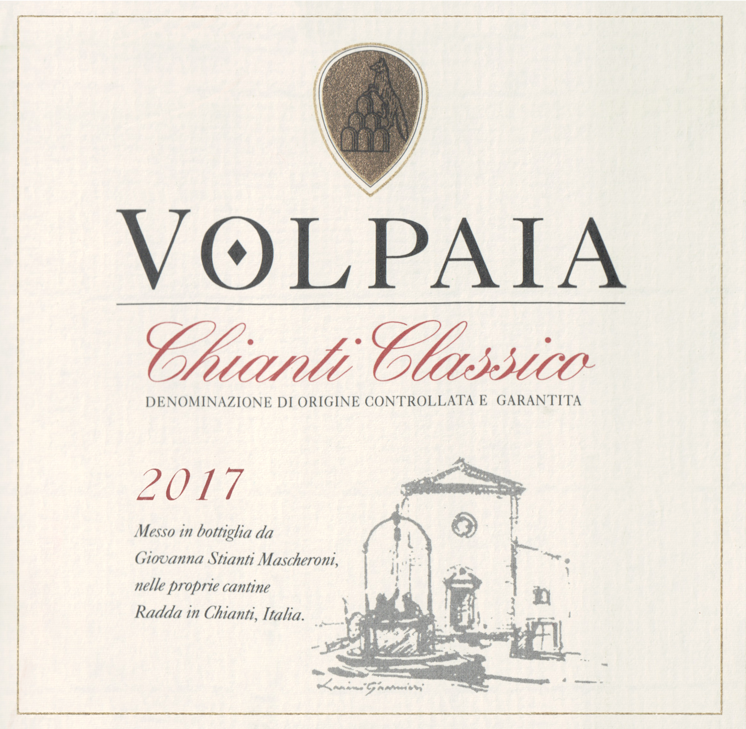 Castello Di Volpaia Chianti Classico 2017