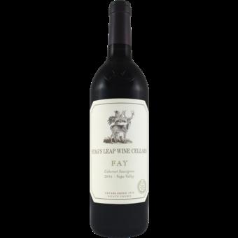 Bottle shot for 2016 Stags Leap Fay Estate Cabernet Sauvignon
