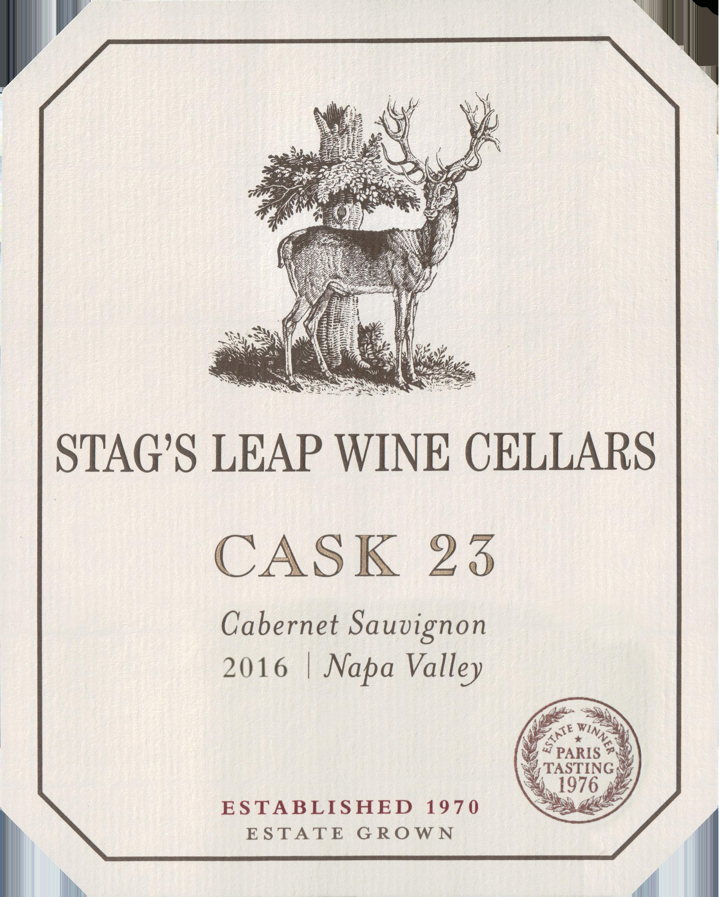 Stags Leap Cask 23 Cabernet Sauvignon 2016