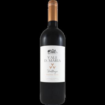 "Bottle shot for 2016 Quinta Do Vale Dona Maria ""Vvv"" Three Valleys Douro Red"