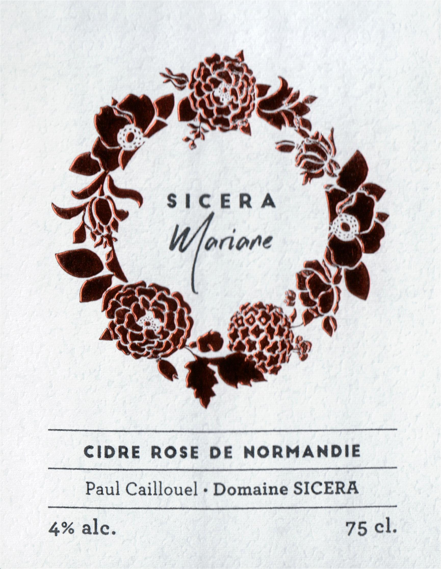 Sicera Cidre Rose Mariane