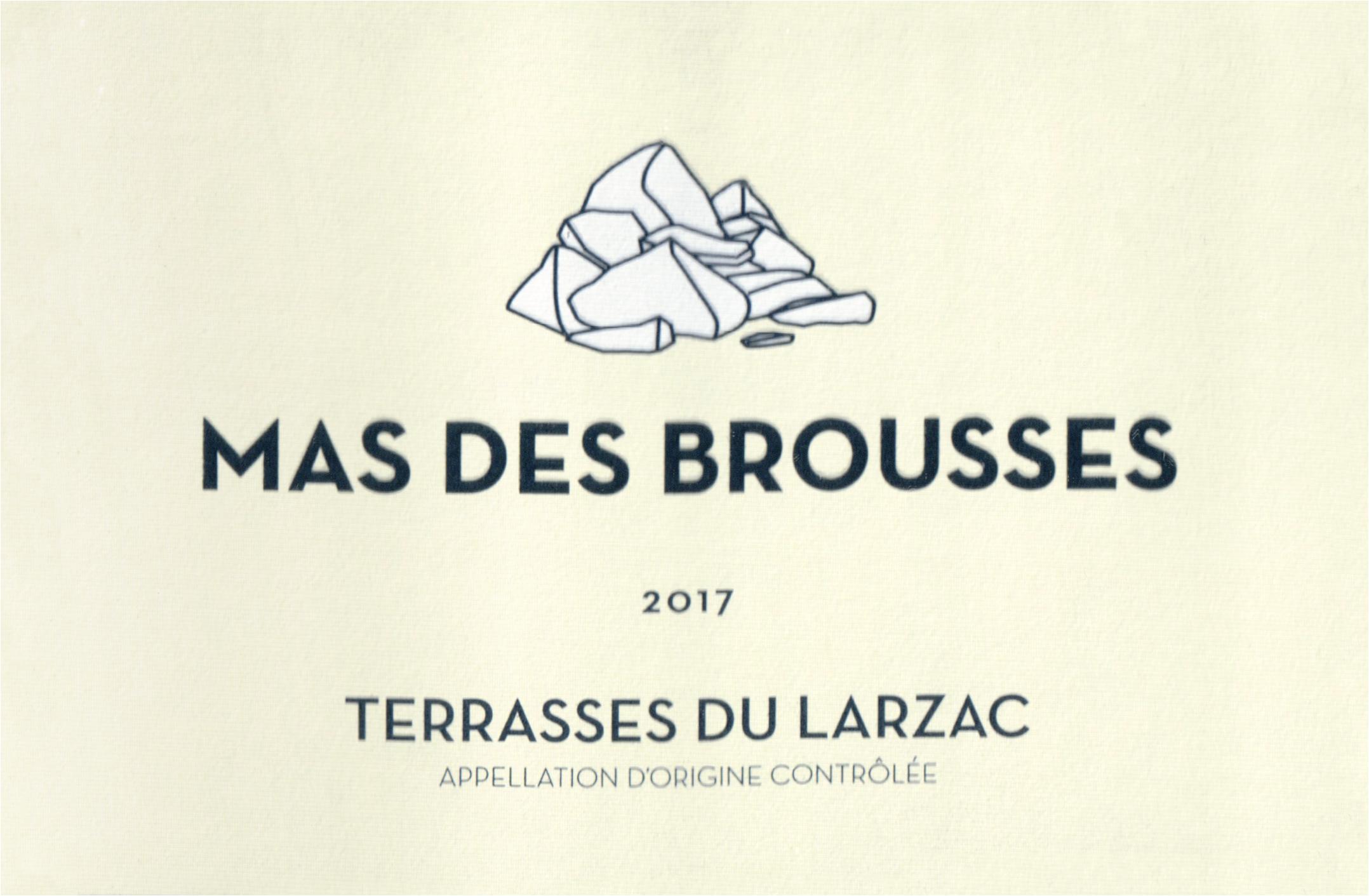 Mas Des Brousses Terrasses Du Larzac Rouge 2017