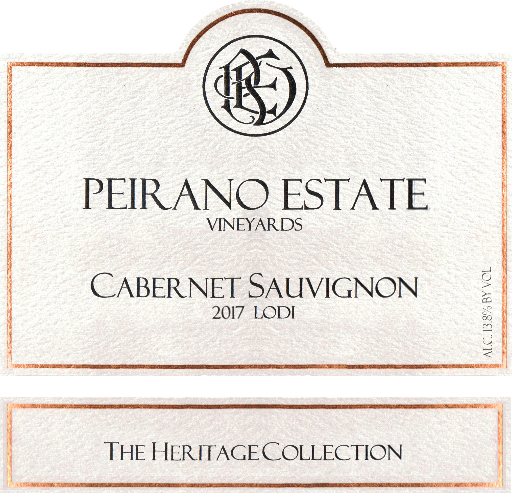 Peirano Estate Cabernet Sauvignon 2017