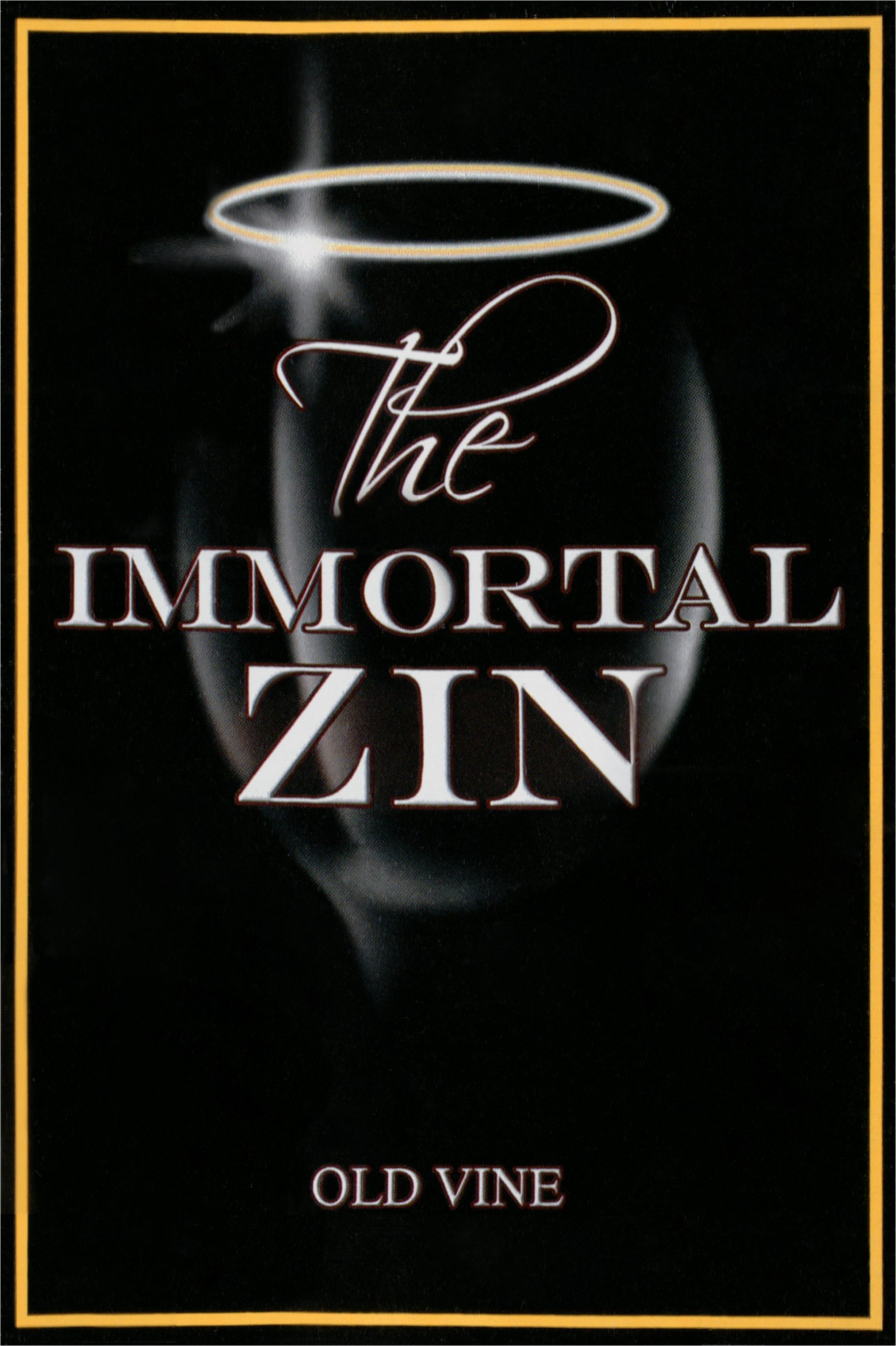 Peirano Immortal Zinfandel 2015