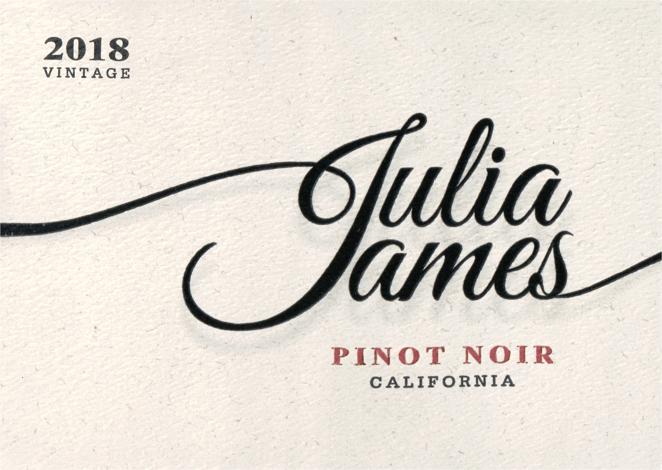 Julia James Pinot Noir 2018