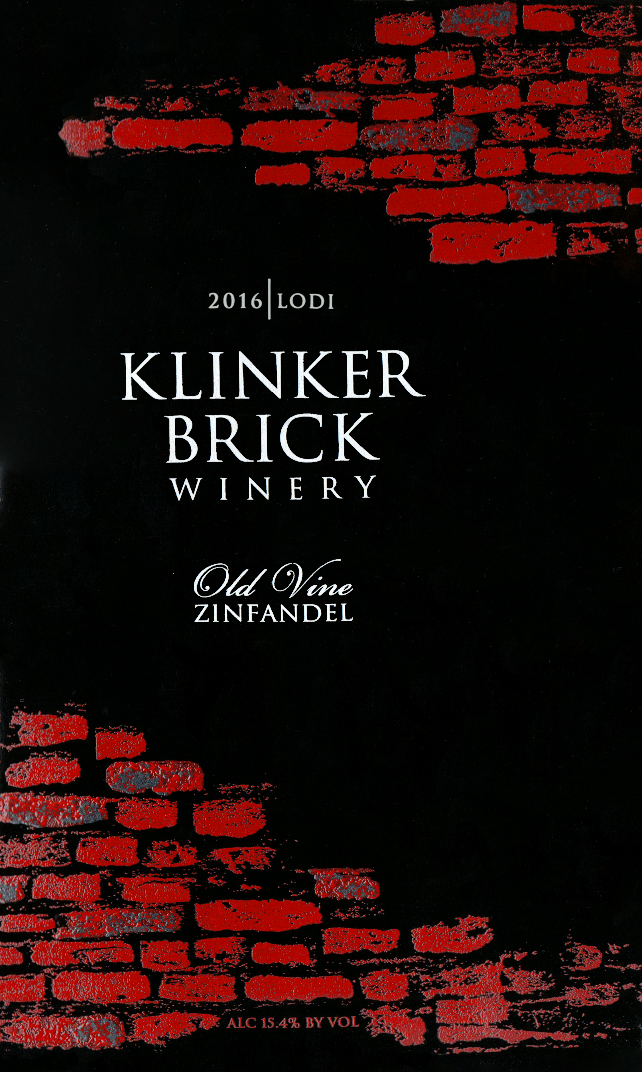 Klinker Brick Lodi Old Vine Zinfandel 2016