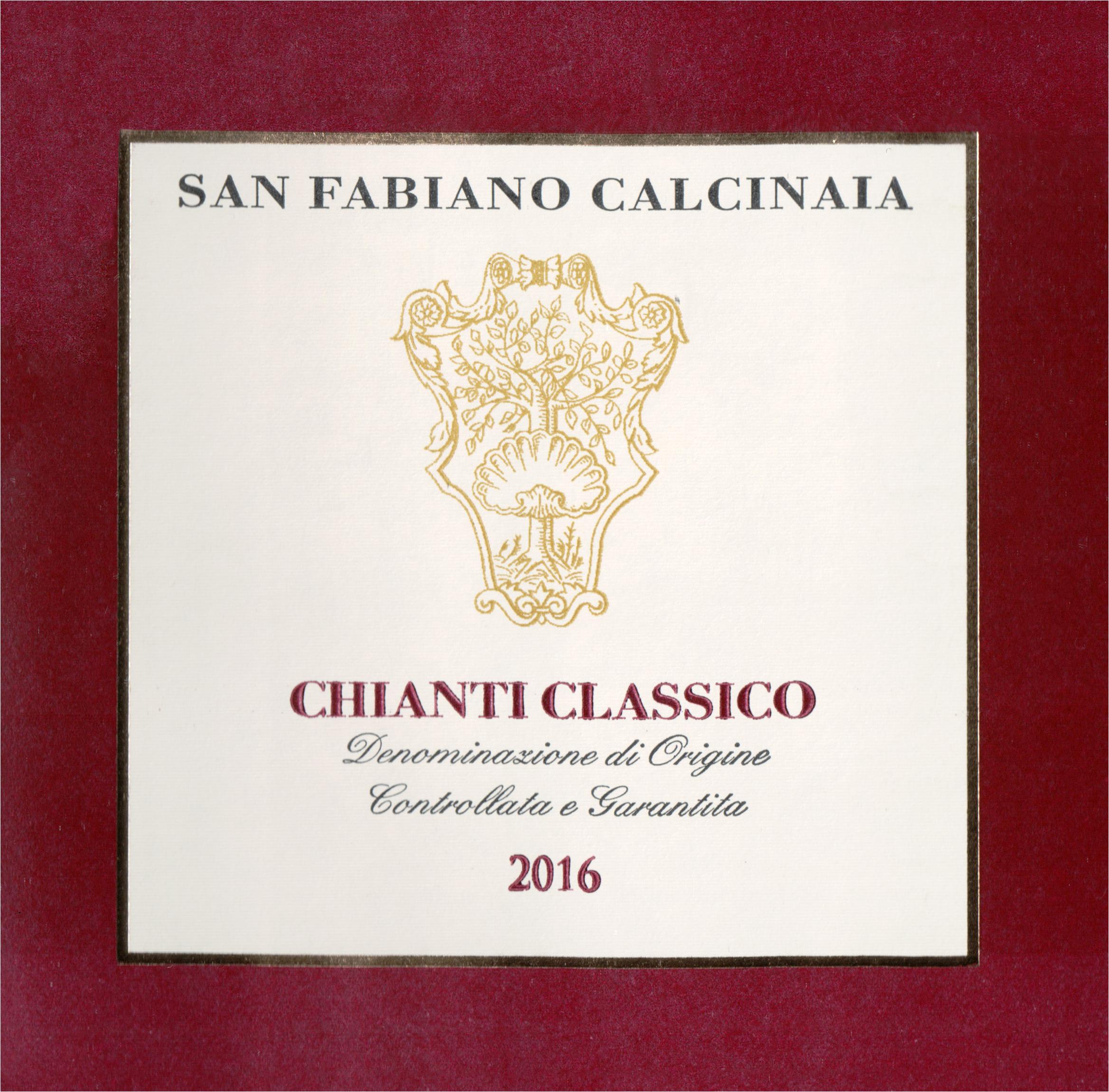 San Fabiano Calcinaia Chianti Classico 2017