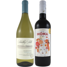 Red And White 2 Bottle Set