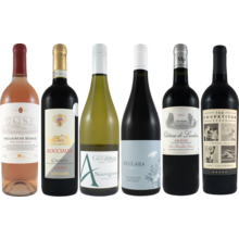 Wines Of The World 6 Bottle Set