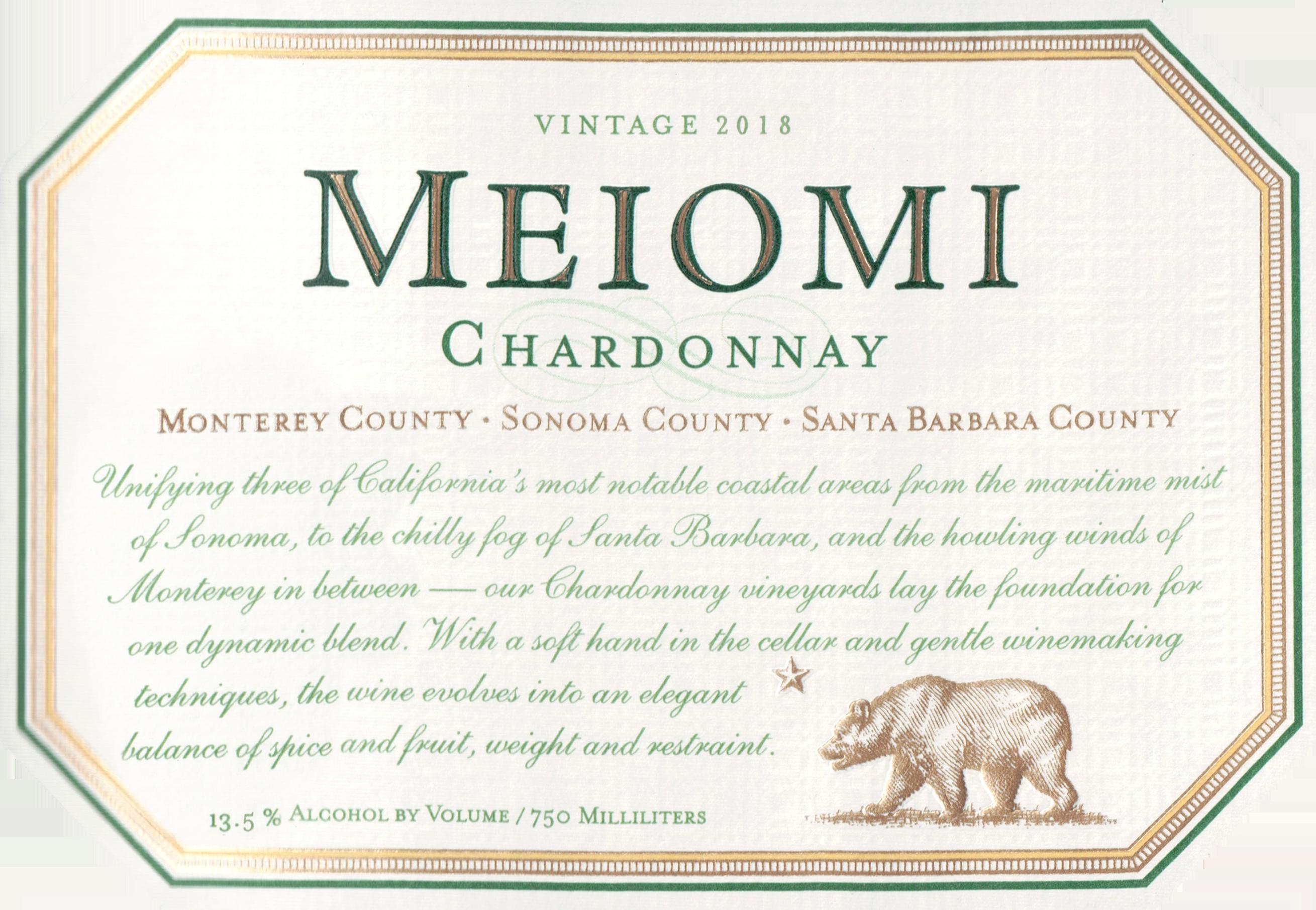 Meiomi Chardonnay 2018
