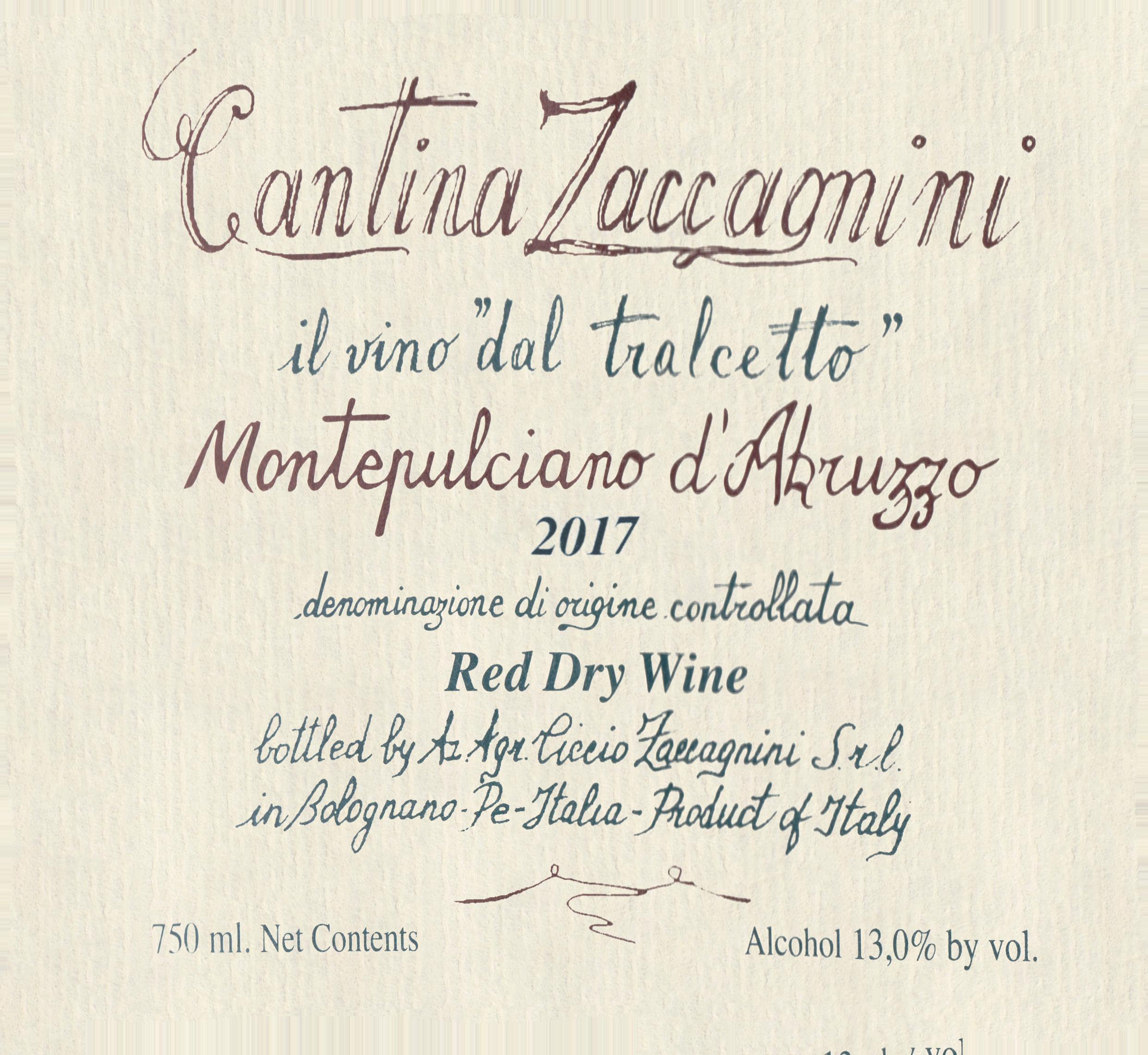 Cantina Zaccagnini Montepulciano D