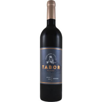 Bottle shot for 2016 Tabor Adama Merlot Upper Galilee