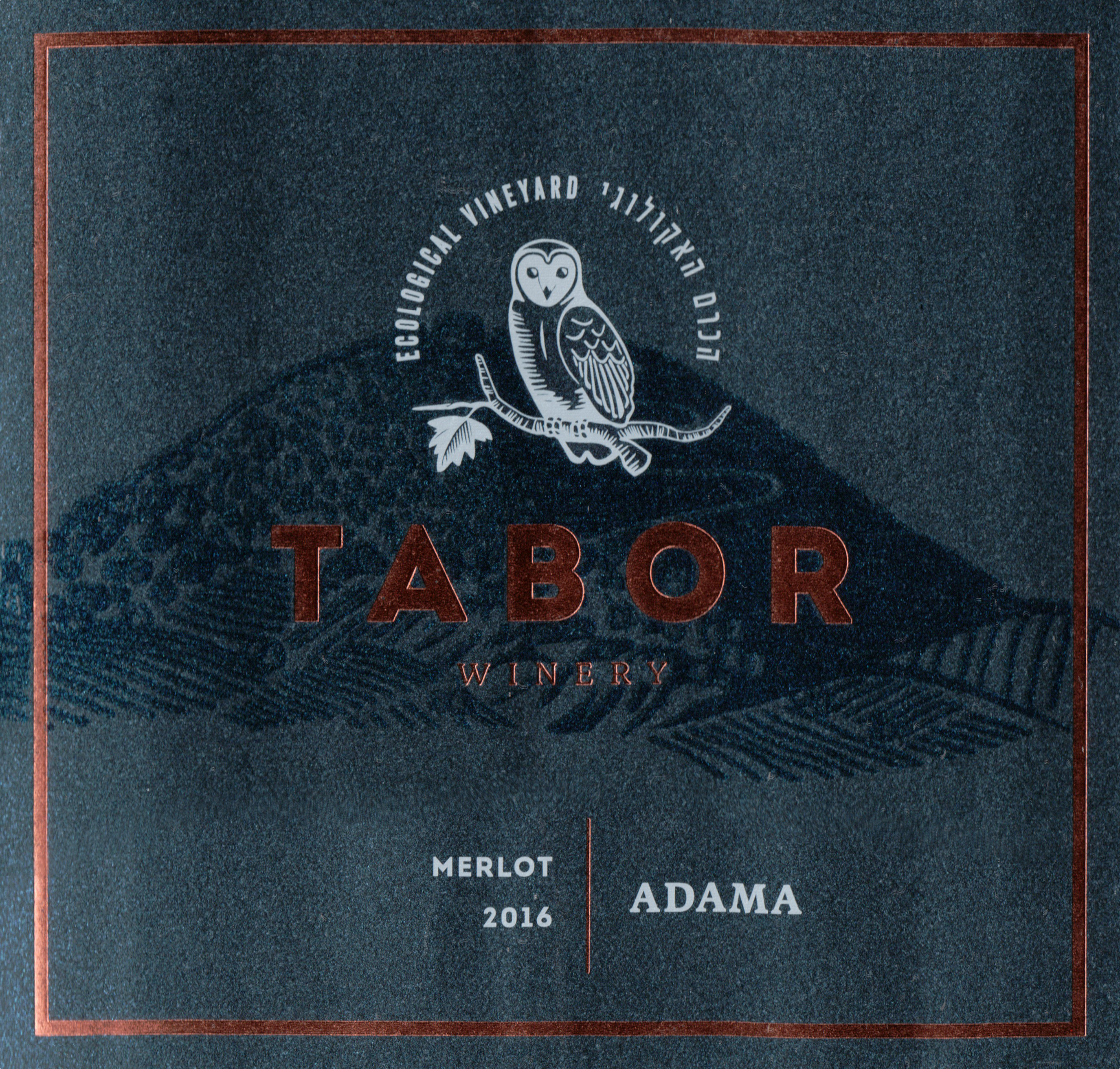 Tabor Adama Merlot Upper Galilee 2016