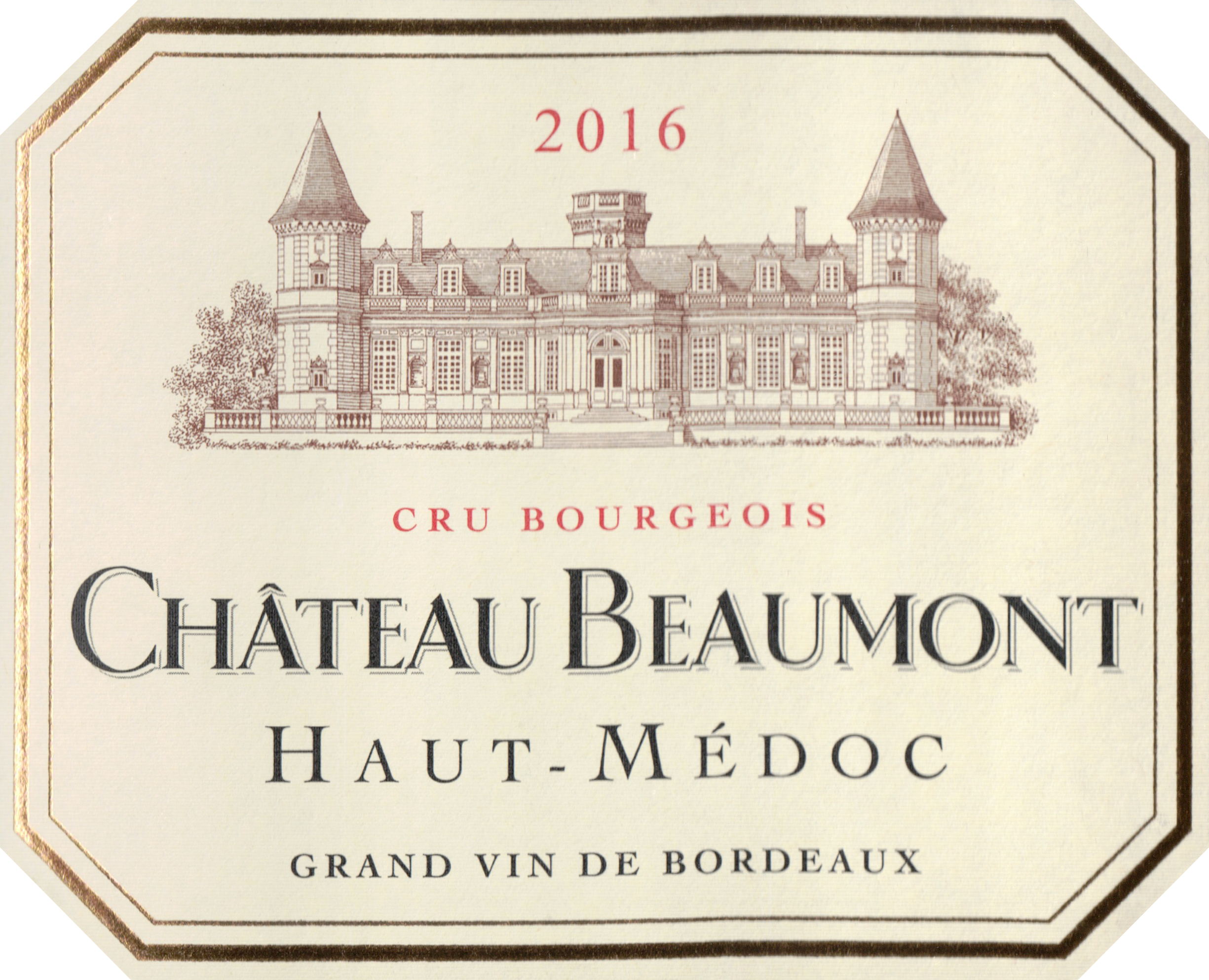 Chateau Beaumont 2016