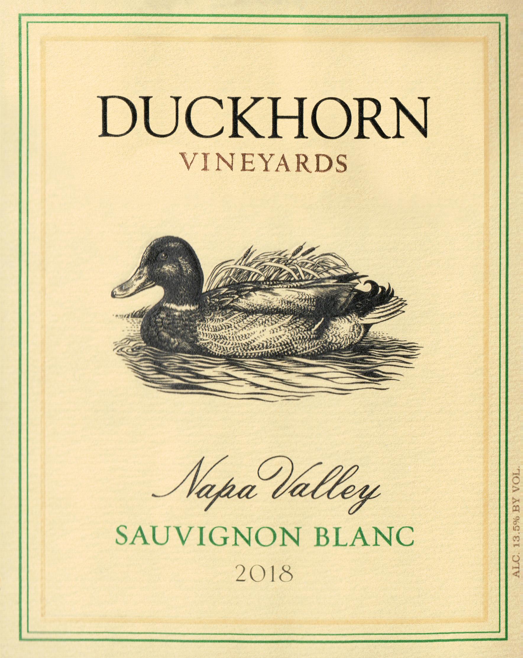 Duckhorn Sauvignon Blanc Half Bottle 2018