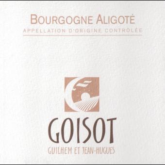 Label shot for 2018 Goisot Bourgogne Aligote