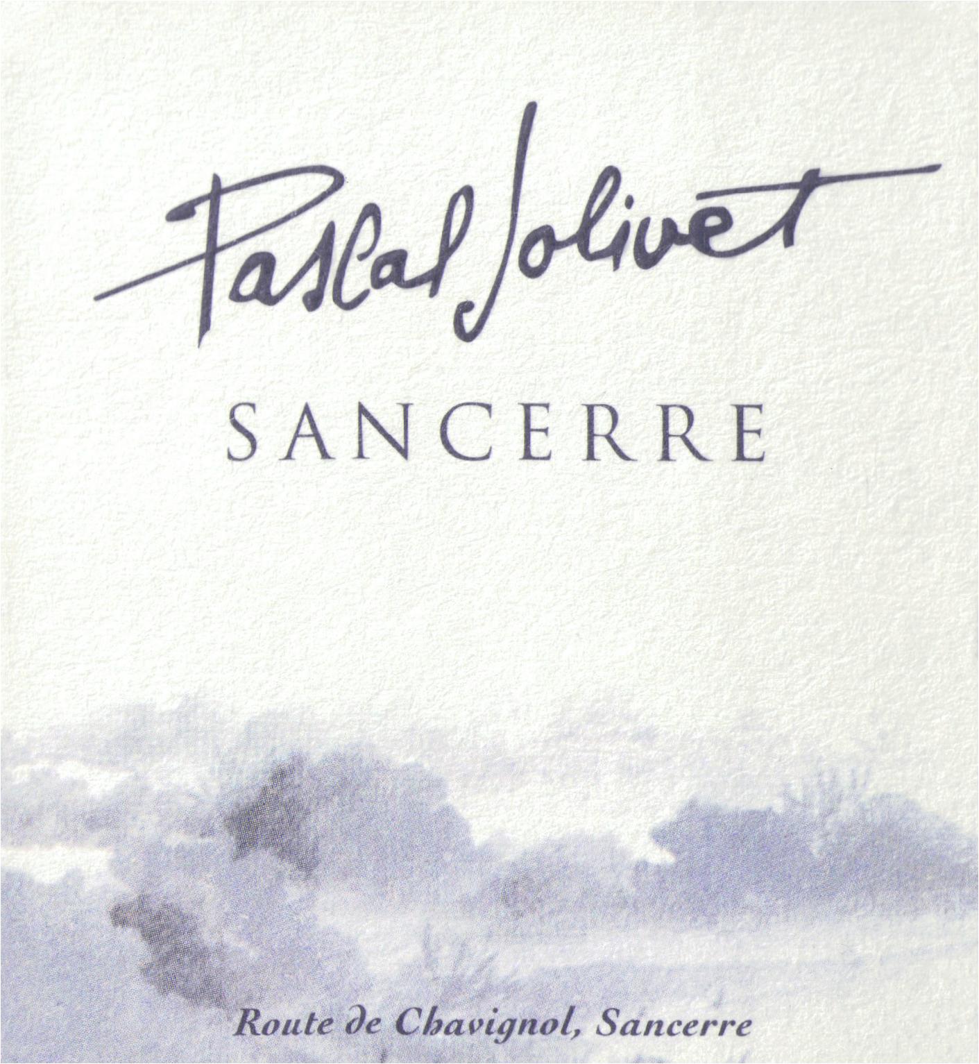 Pascal Jolivet Sancerre 2018