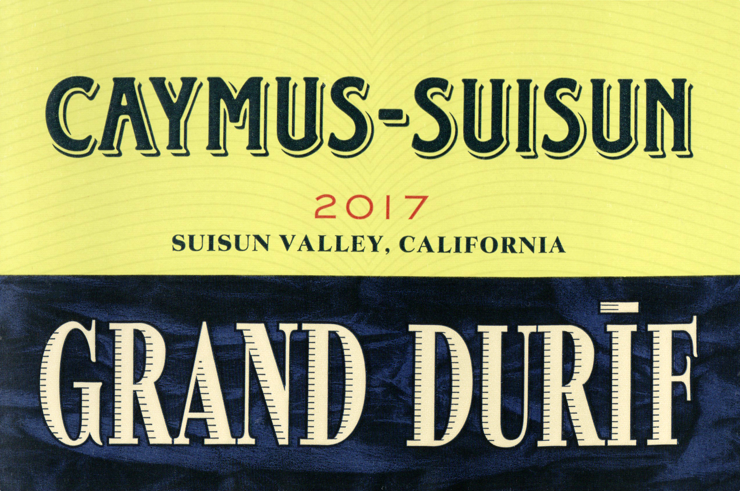 Caymus Grand Durif 2017