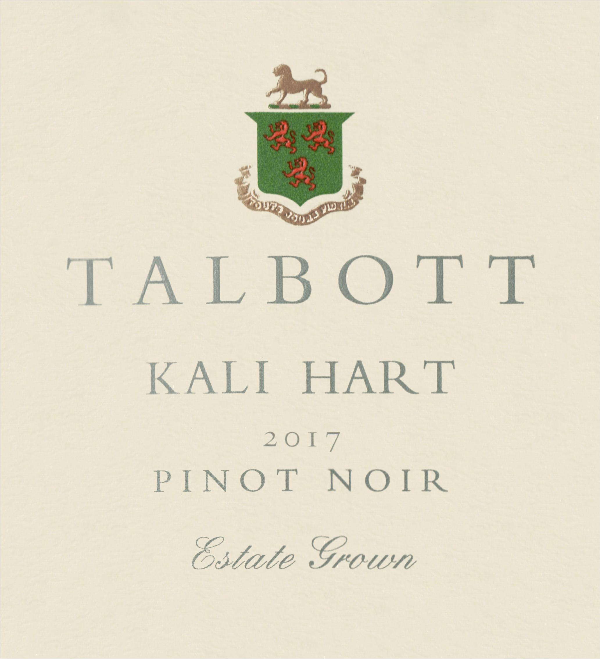 Kali Hart Pinot Noir 2017