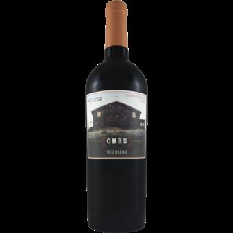 Bottle shot for 2018 Omen Red Blend