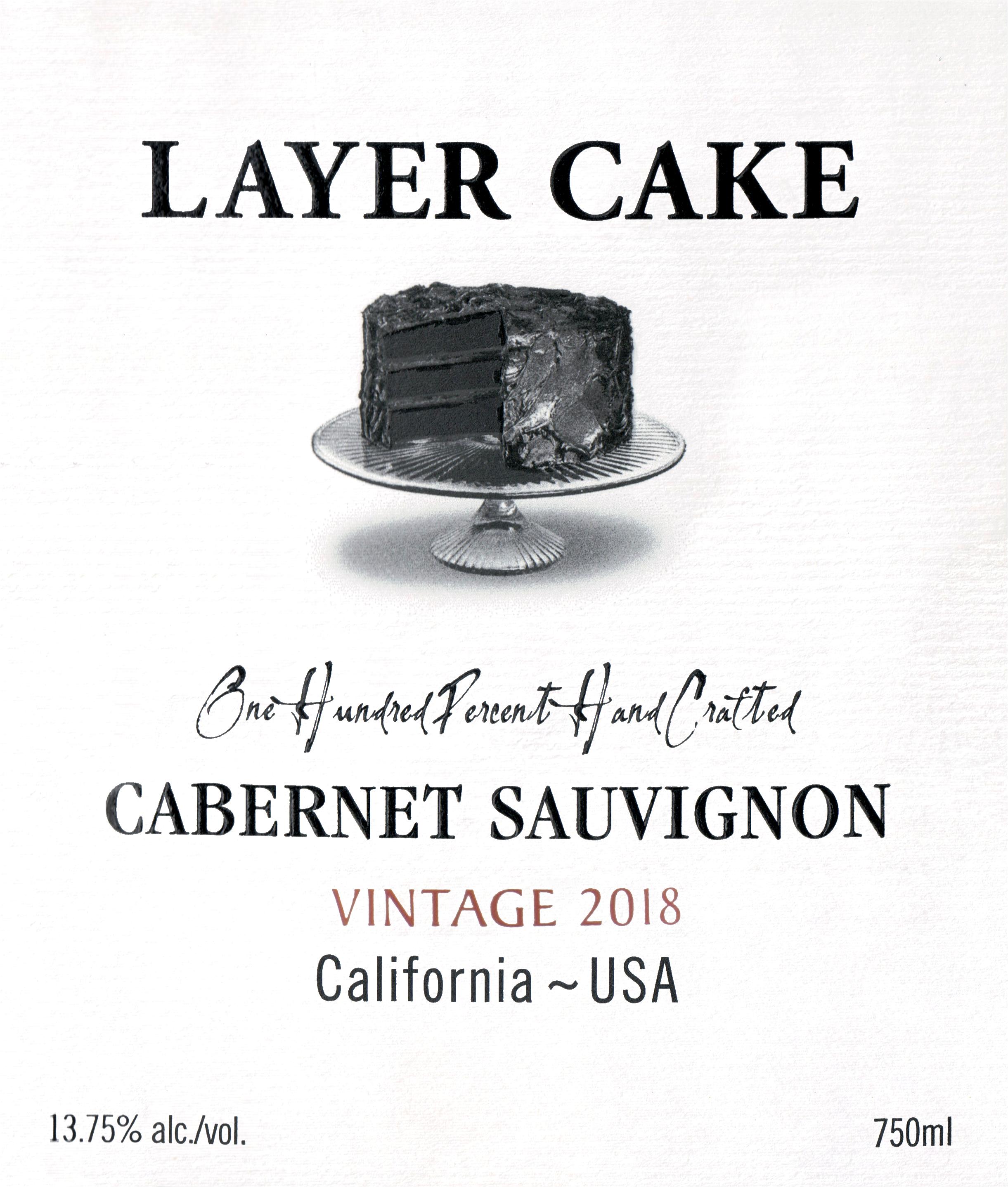 Layer Cake Cabernet Sauvignon 2018