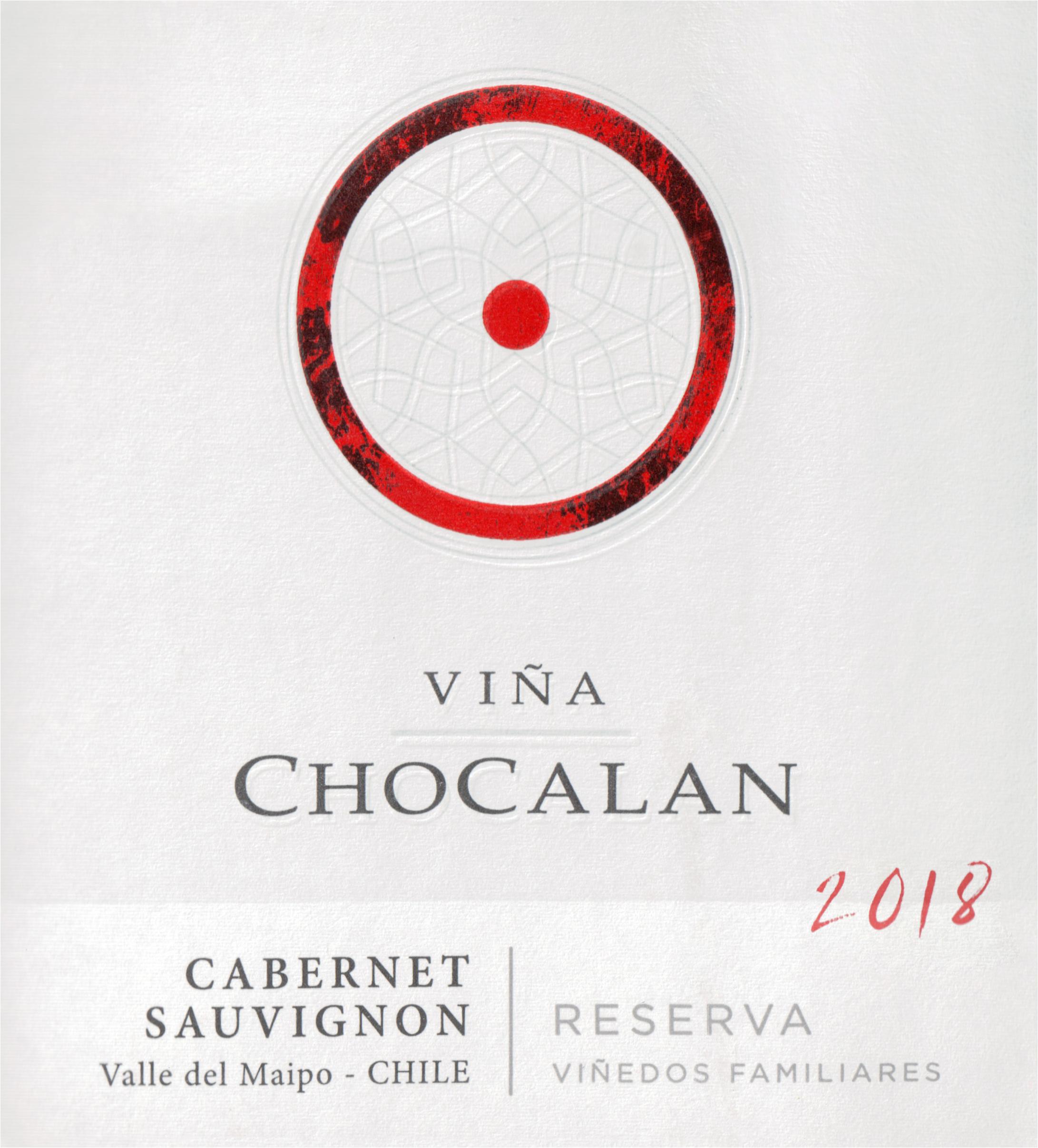 Vina Chocalan Reserva Cabernet Sauvignon 2018