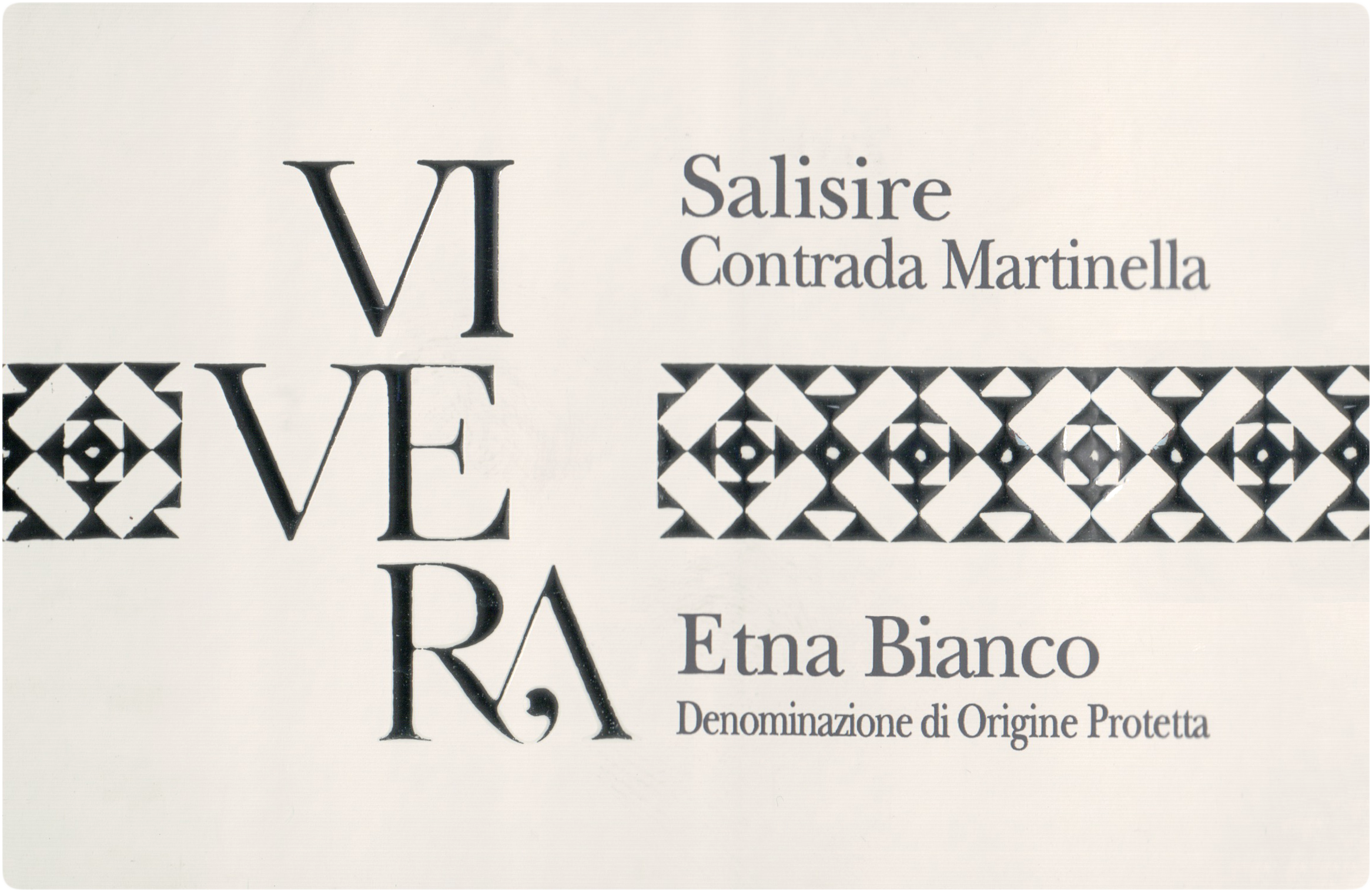 Vivera Etna Salisire Bianco 2015