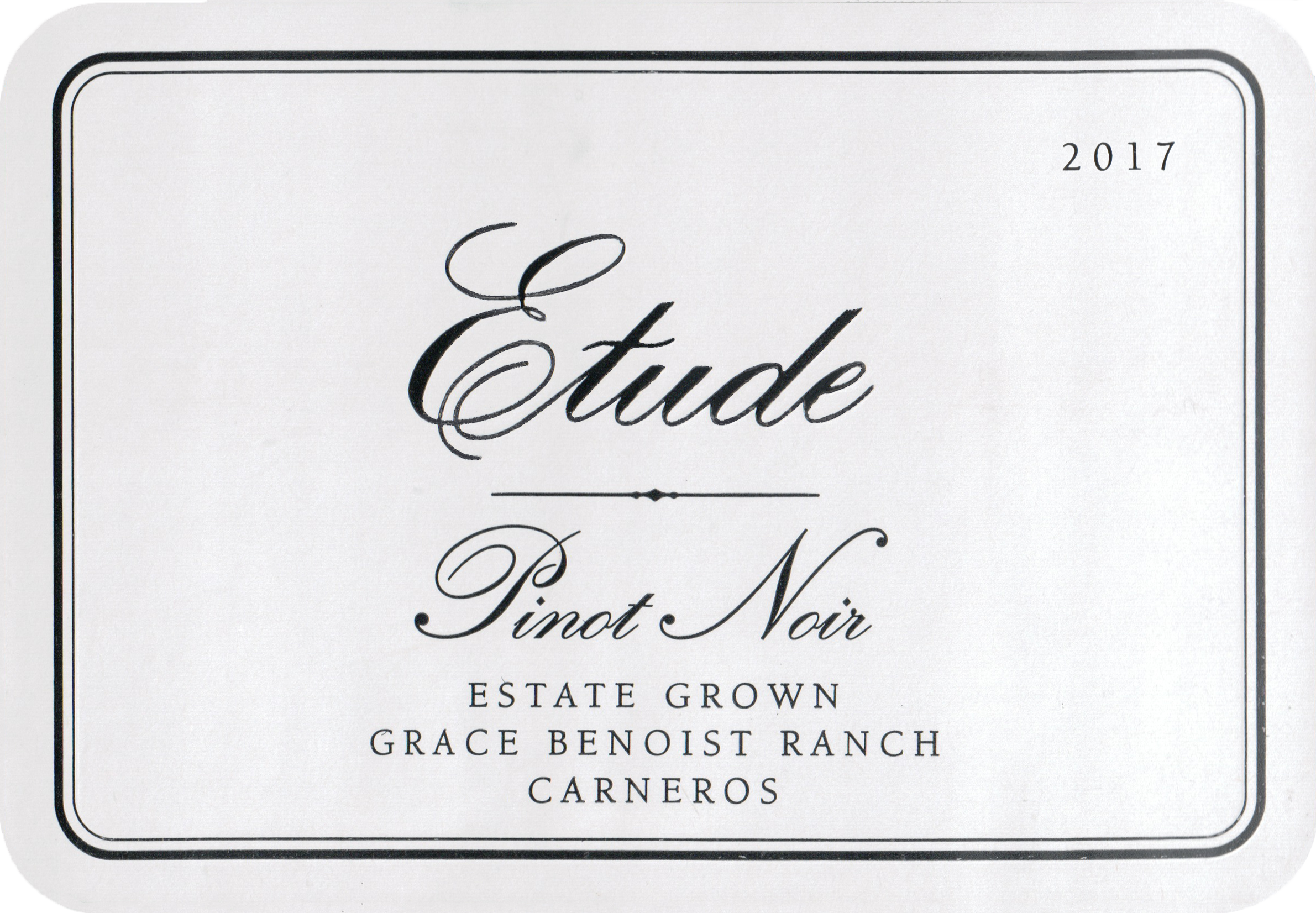 Etude Pinot Noir Carneros 2017