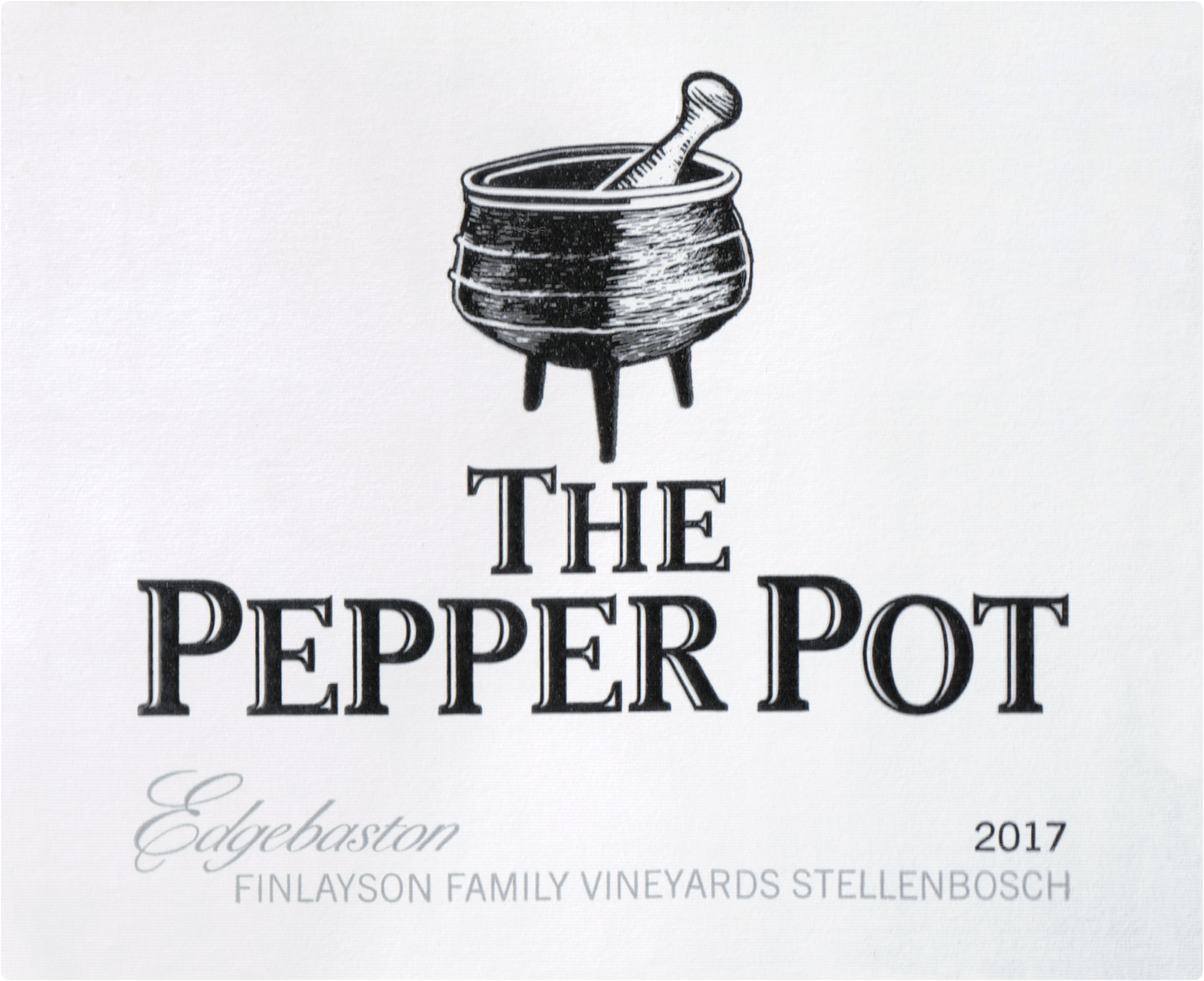 Edgebaston Finlayson The Pepper Pot 2017