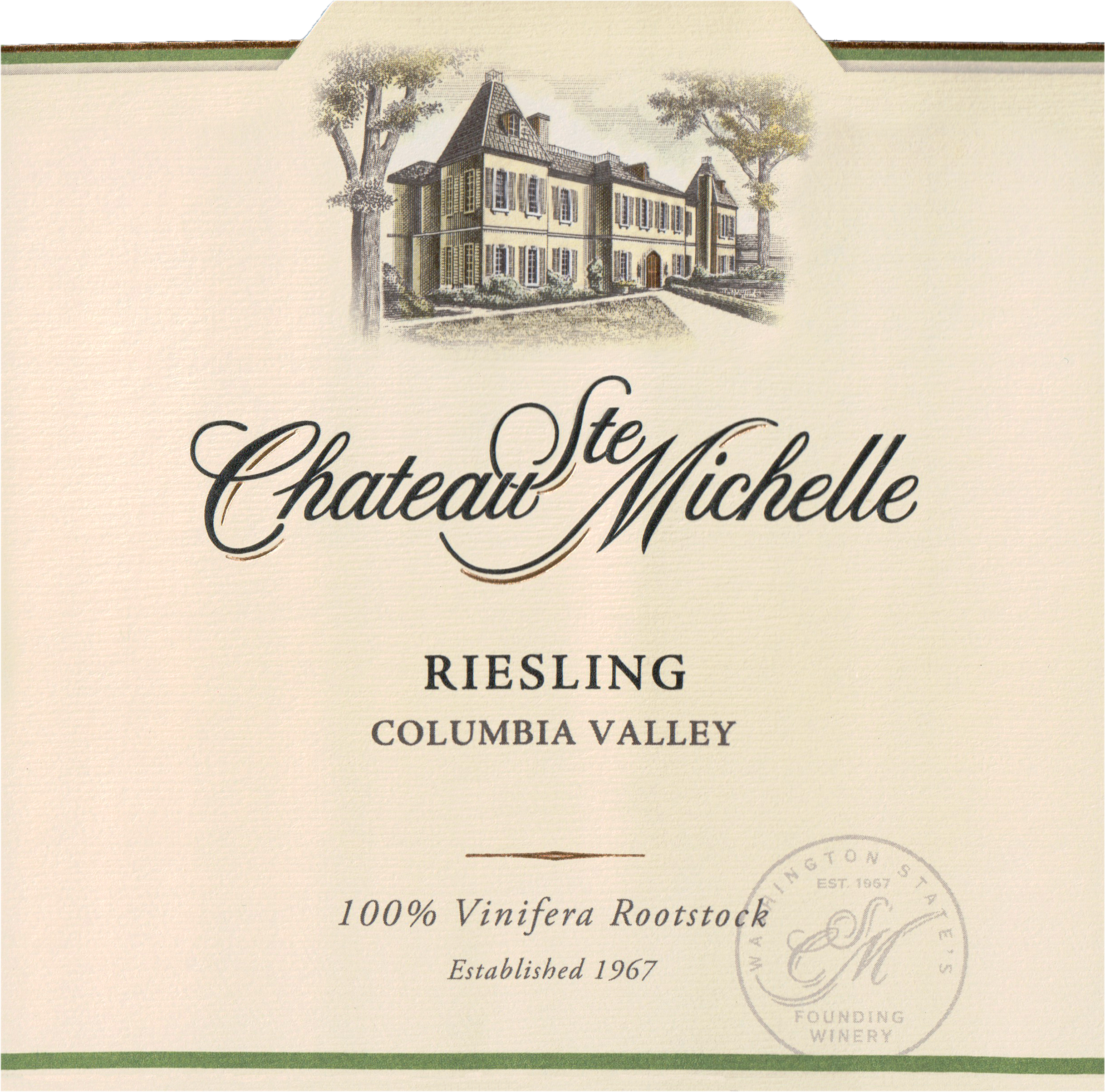Chateau St Michelle Riesling 2018