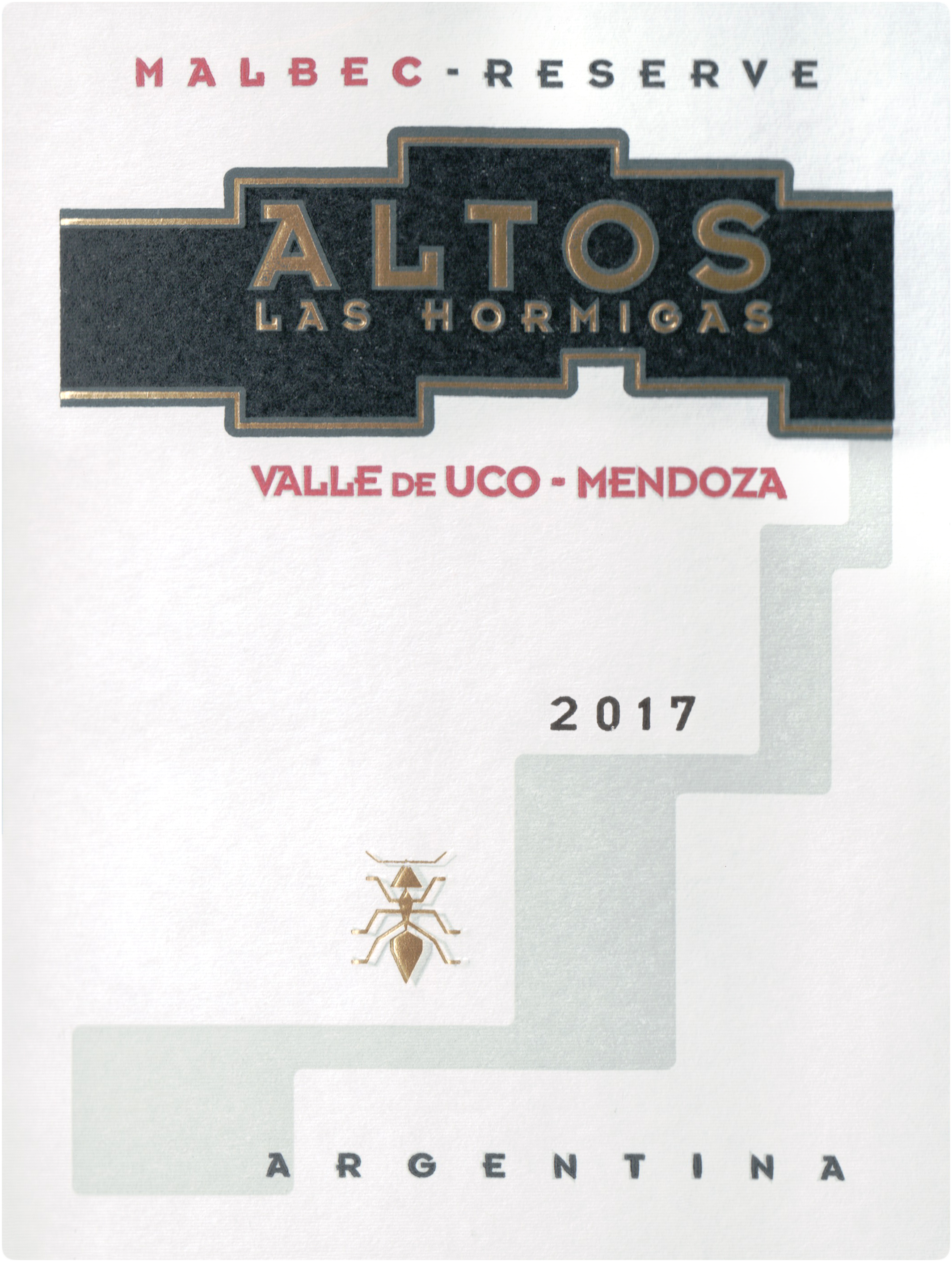 Altos Las Hormigas Malbec Reserve 2017
