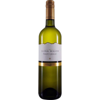 Bottle shot for 2018 Elena Walch Pinot Grigio Castel Ringberg