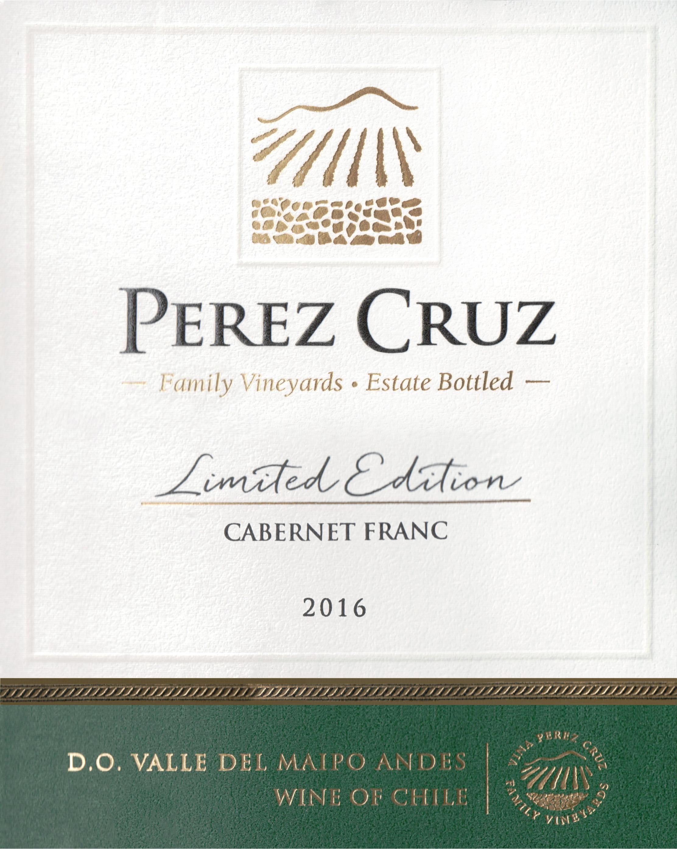 Vina Perez Cruz Limited Cabernet Franc 2016