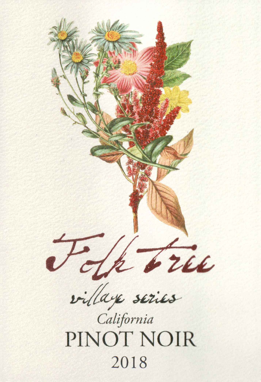 Folk Tree Pinot Noir Village Series 2018