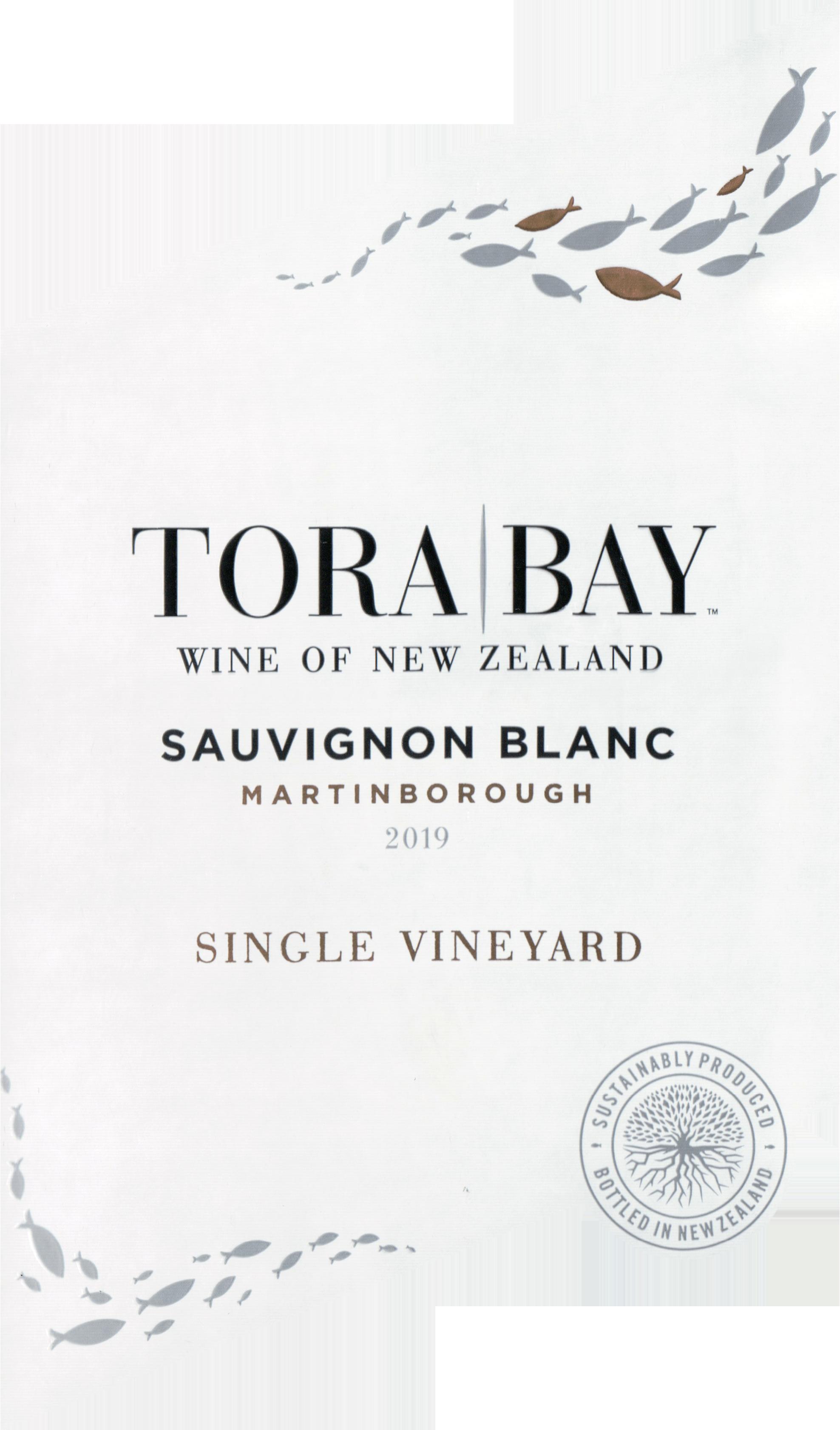 Tora Bay Sauvignon Blanc 2019