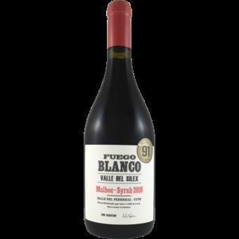Bottle shot for 2016 Fuego Blanco Malbec Syrah Blend